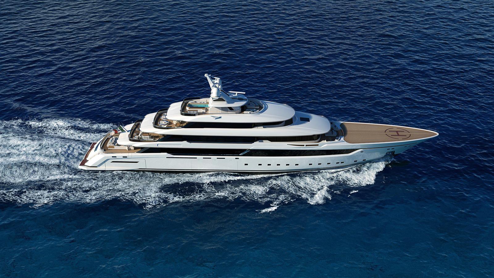 columbus classic 80m motoryacht palumbo 80m 2018 rendering profile