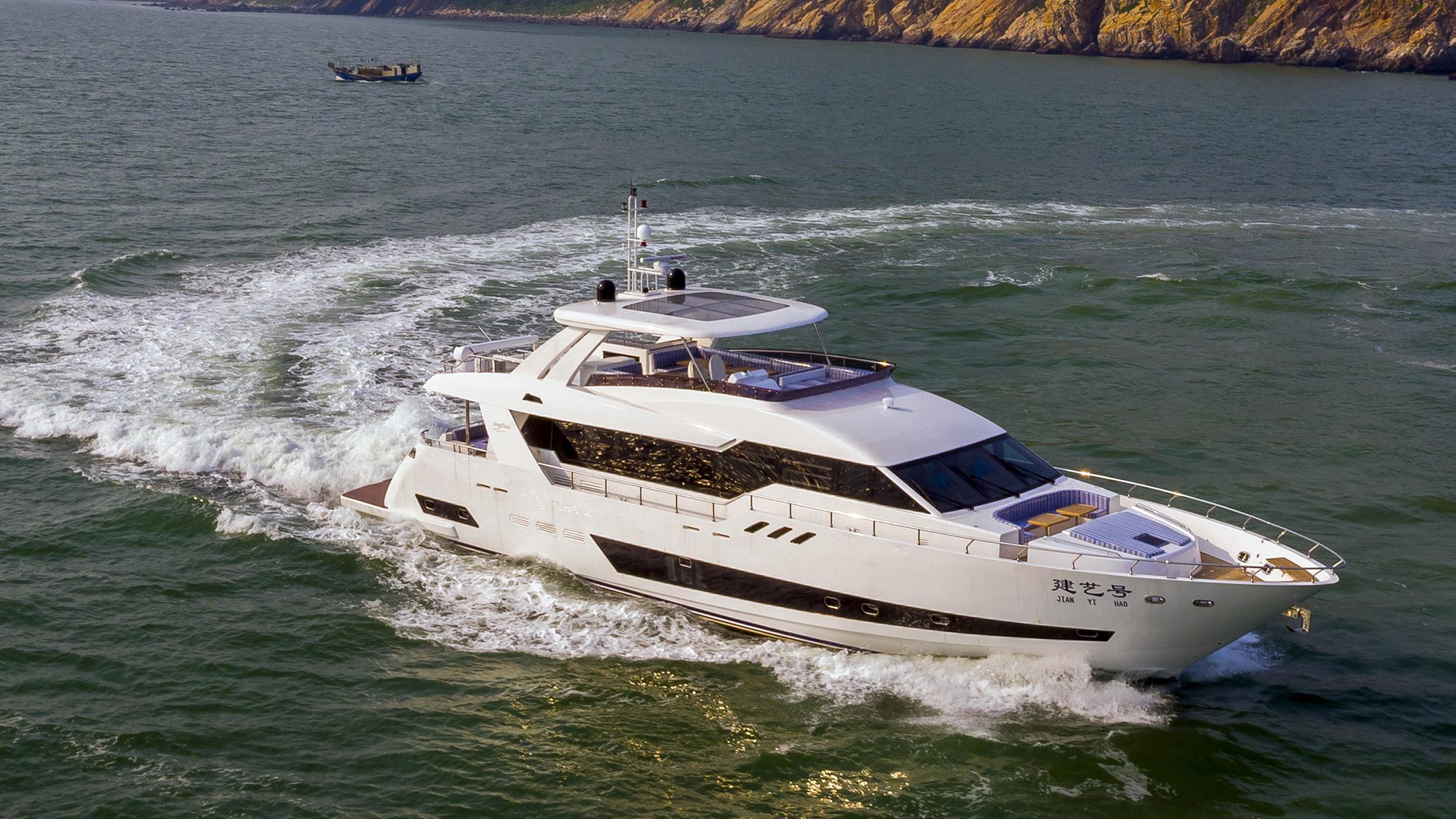 asteria 96 hull 1 motoryacht heysea 29m 2017 half profile
