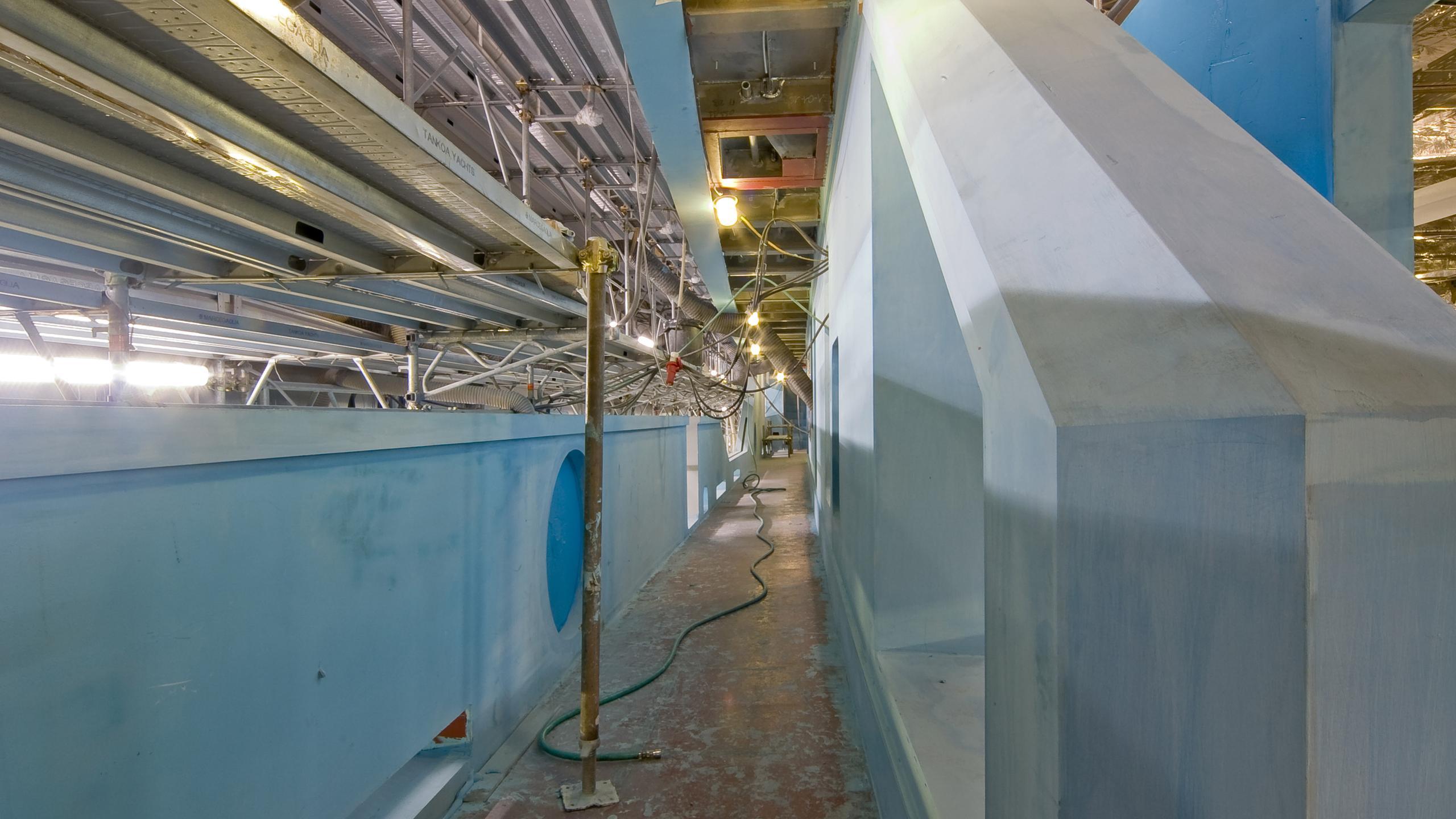 solo s701 motoryacht tankoa yachts 72m 2018 under construction side view