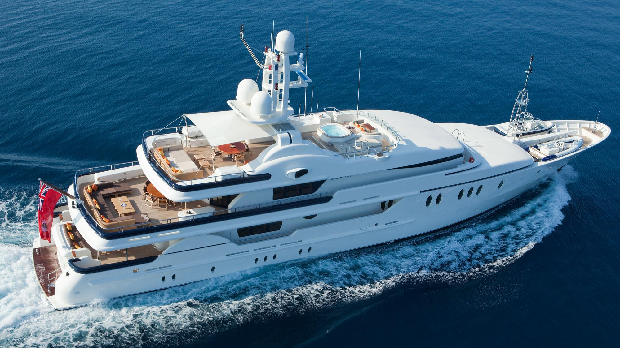 DEJA TOO yacht for charter (Amels, 52m, 2003)