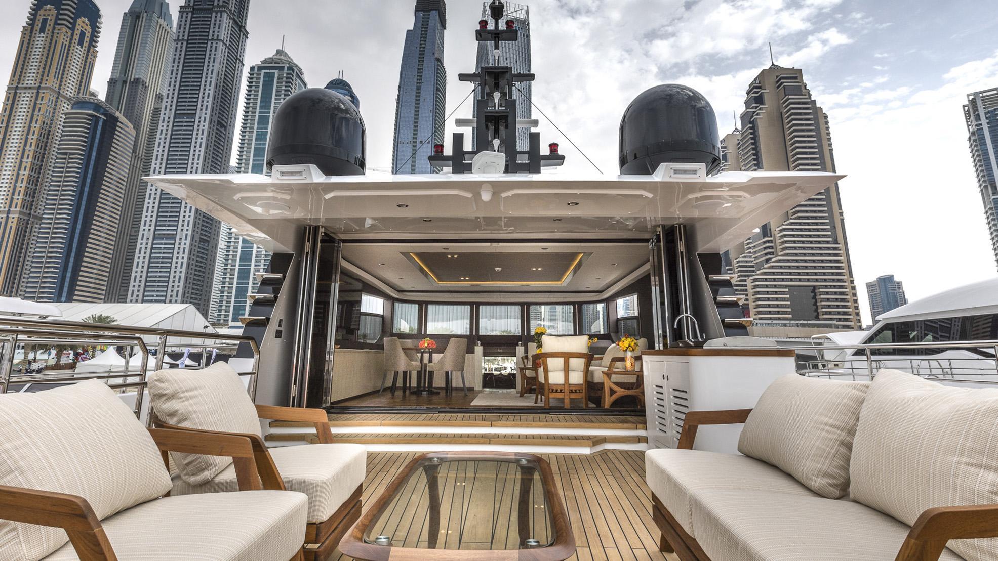nahar majesty 100 motoryacht gulf craft 31m 2017 skylounge