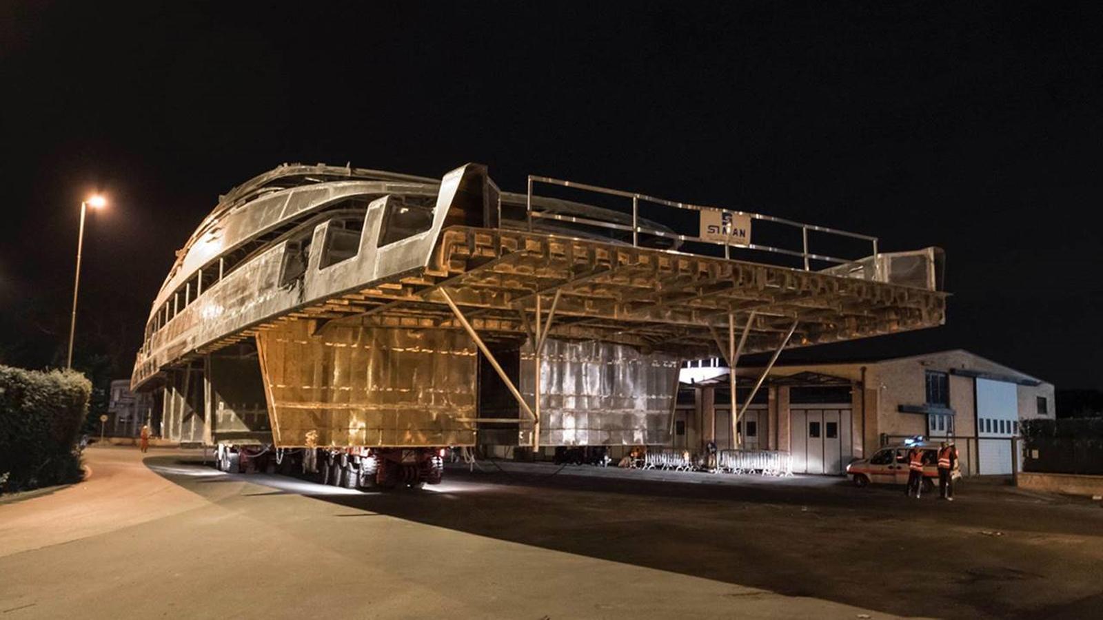 sl 64 steel motoryacht sanlorenzo 64 steel 2019 64m superstructure