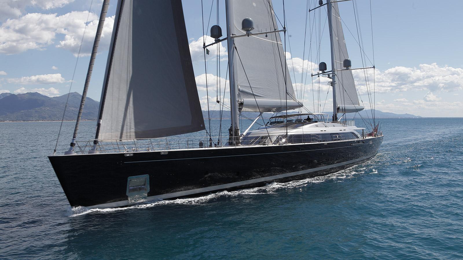 sybaris sailing yacht perini navi 2016 70m half profile
