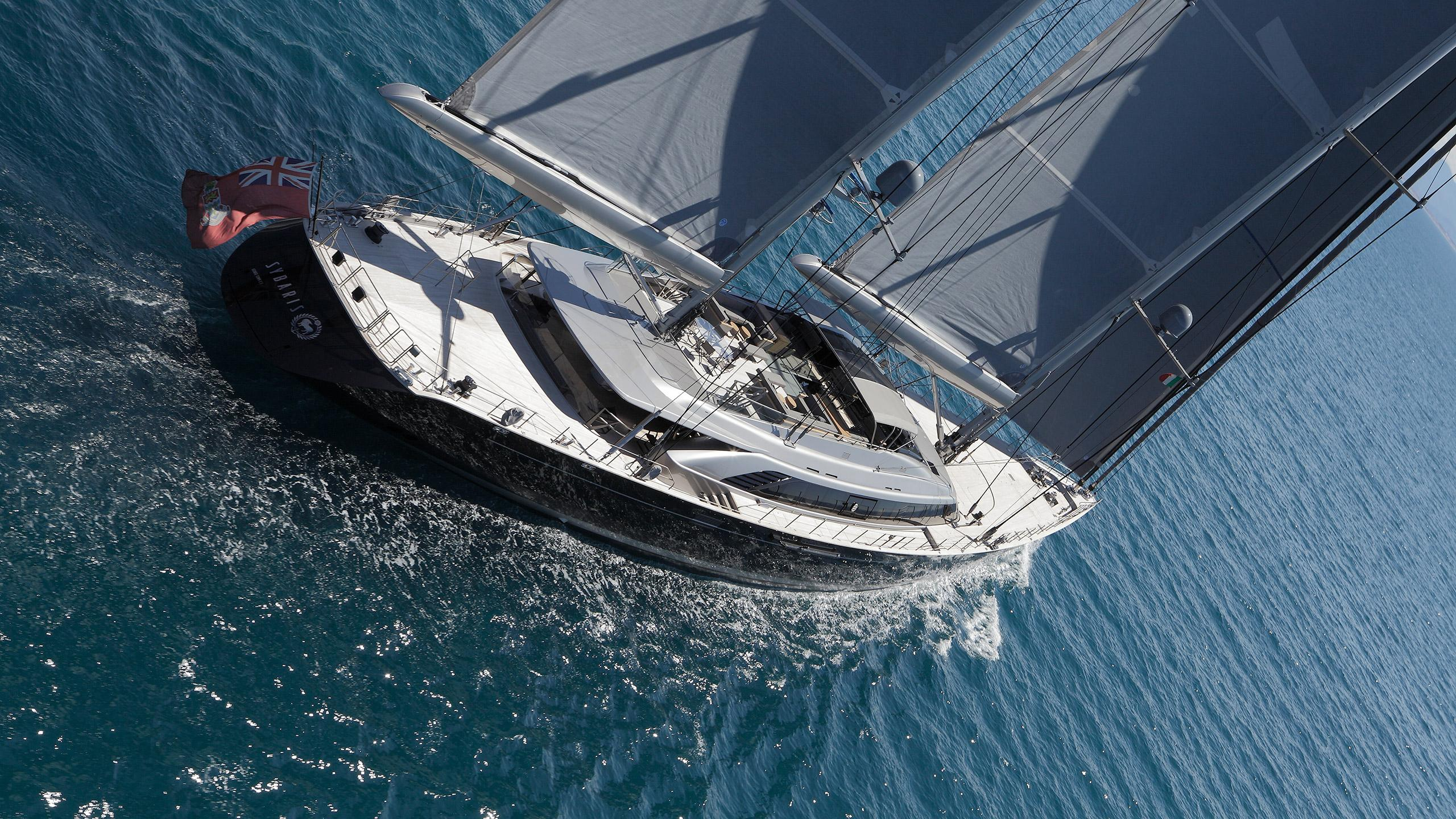 sybaris sailing yacht perini navi 2016 70m half stern