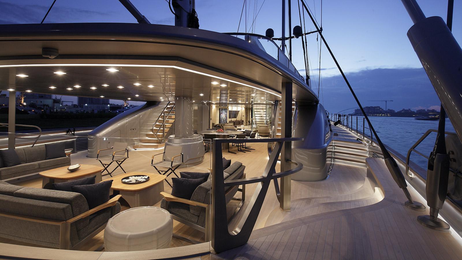 sybaris sailing yacht perini navi 2016 70m aft deck