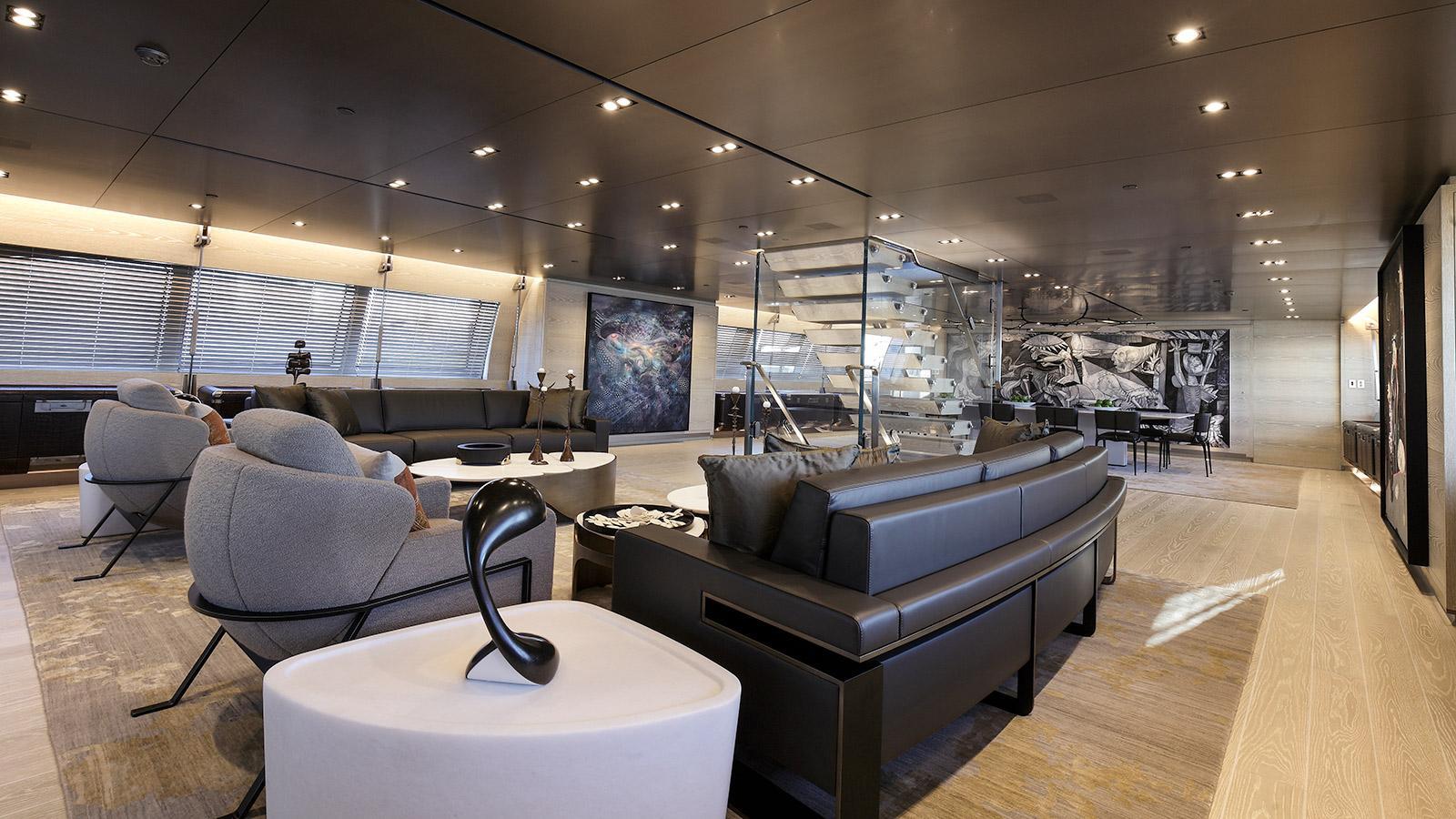 sybaris sailing yacht perini navi 2016 70m saloon