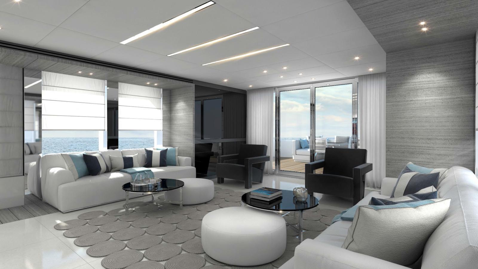 century 100 motoryacht astondoa 30m 2017 rendering saloon