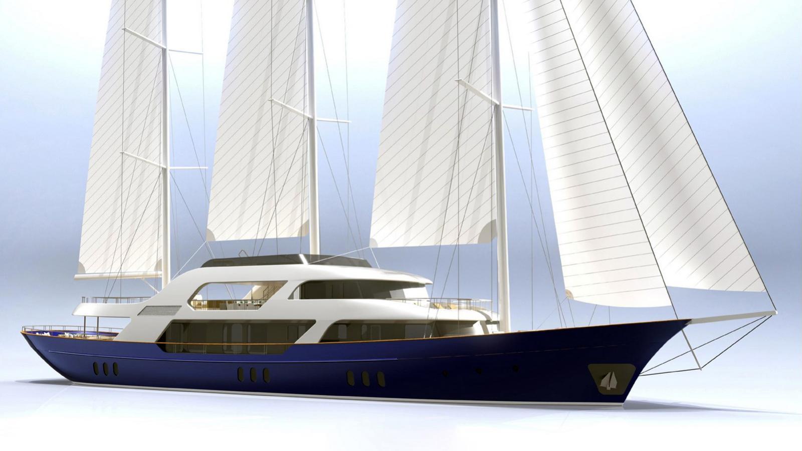 meira motorsailer neta marine 55m 2018 rendering
