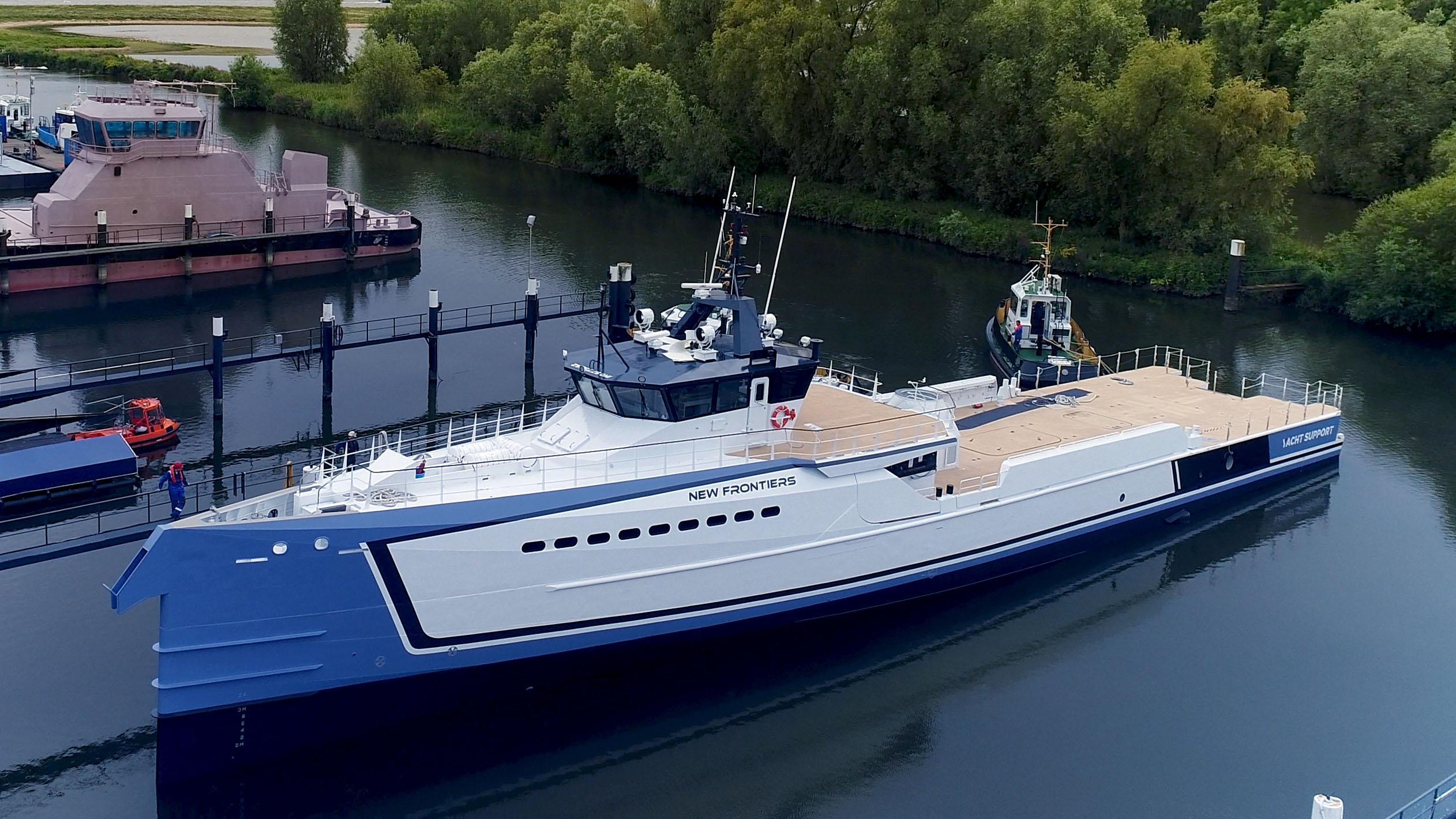 shadow new frontiers motoryacht damen 55m 2017 launch profile