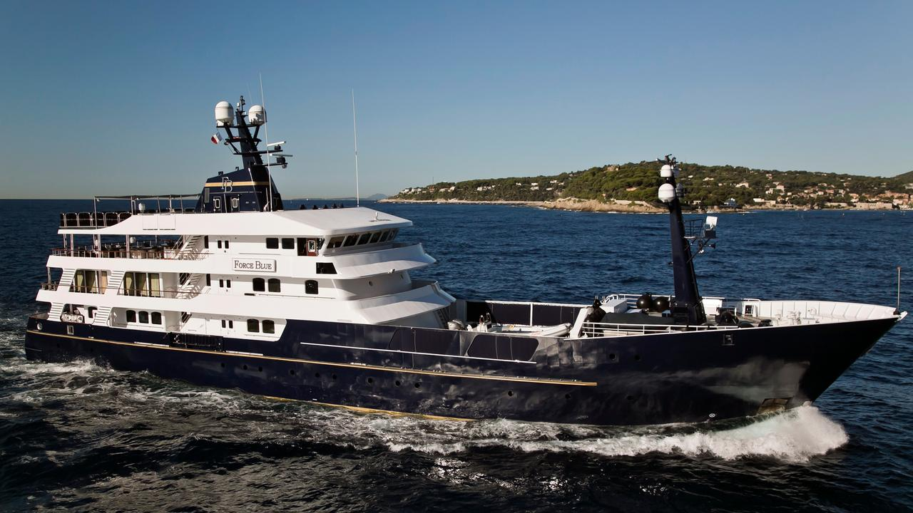 promo code 86ee2 edae6 FORCE BLUE yacht for charter   Boat International