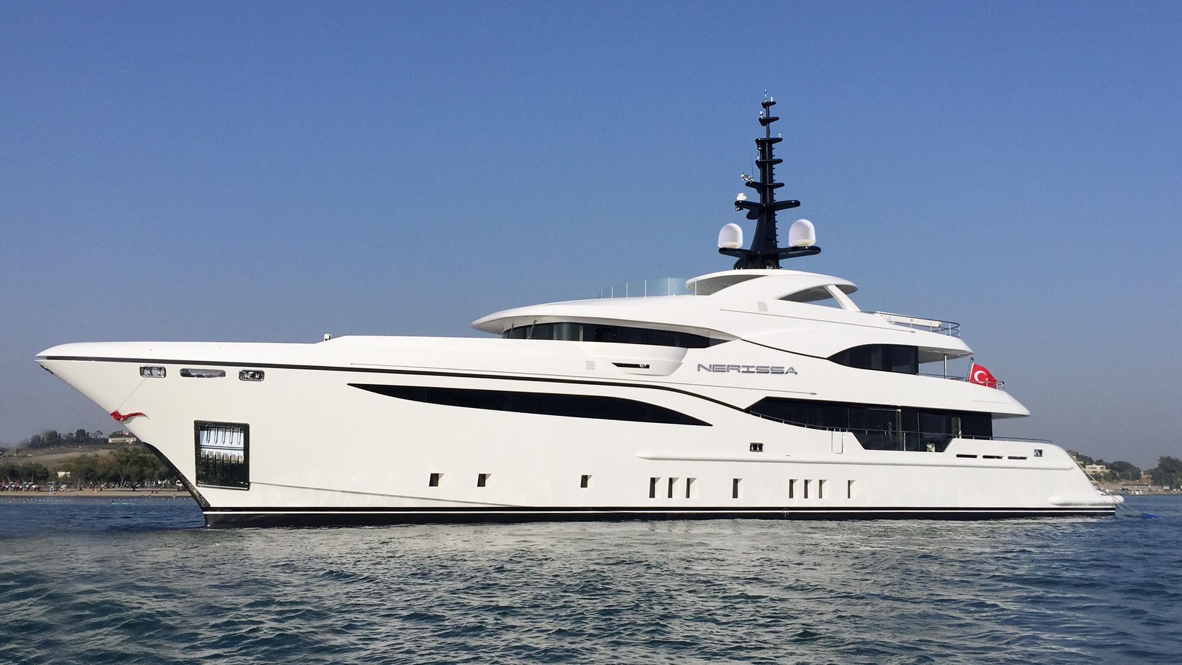 nerissa motoryacht bilgin 47m 2017 launch profile