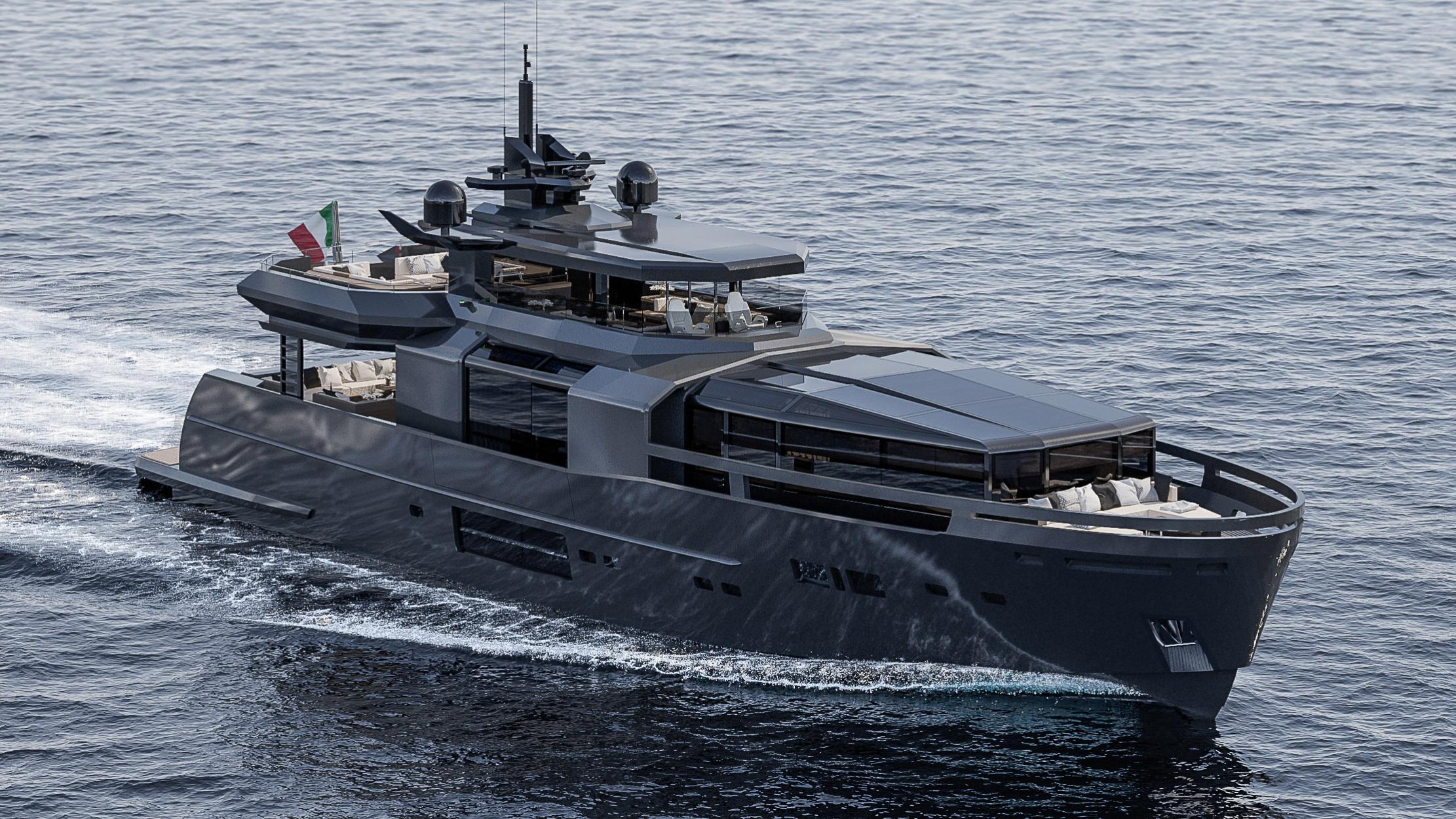 rj arcadia 105 motoryacht arcadia yachts 31m 2018 rendering