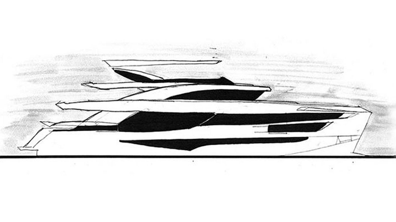 kalliente ii motoryacht dominator ilumen 38m 2019 rendering