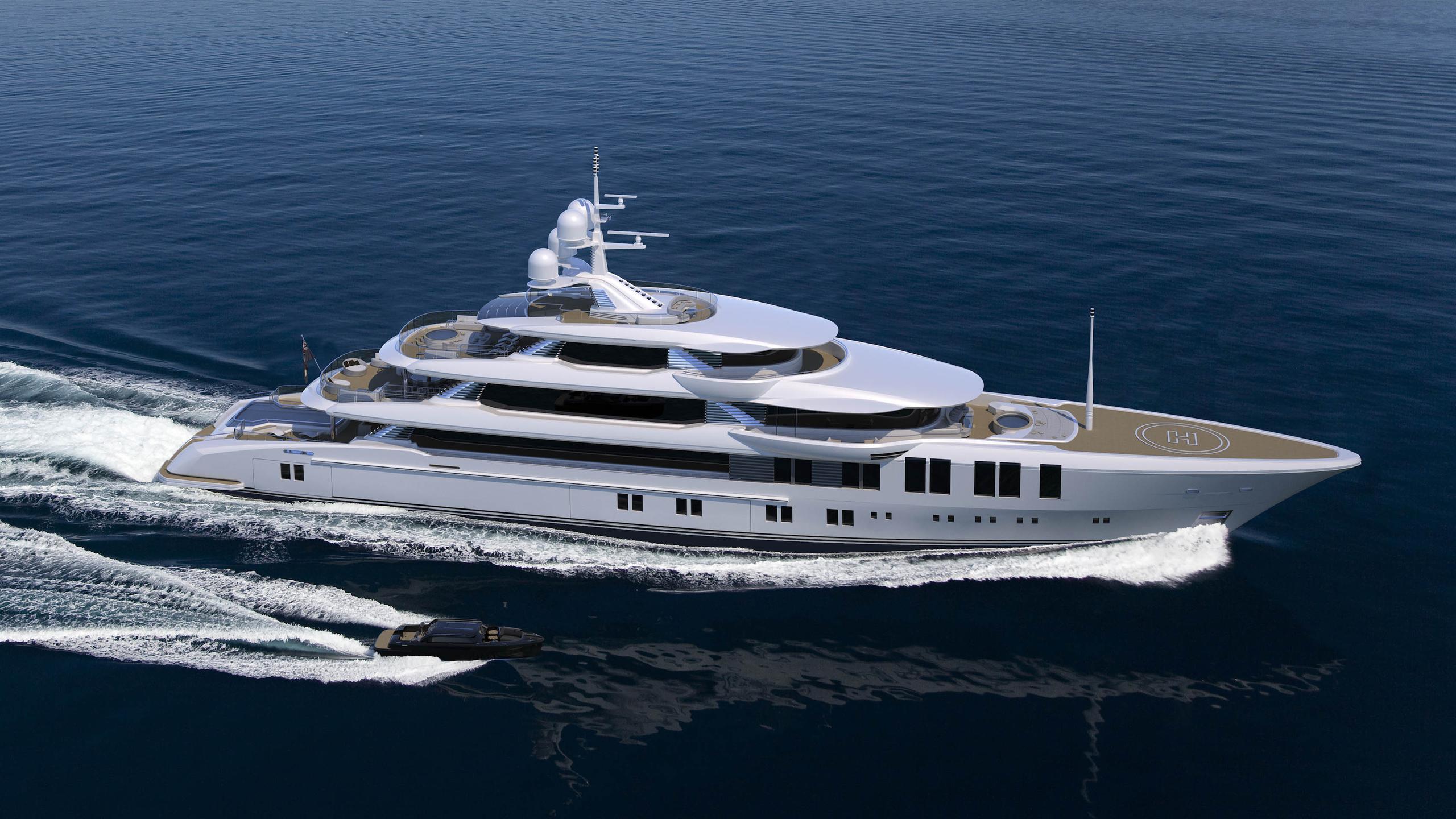 turquoise 74m motoryacht turquoise yachts 74m 2019 rendering
