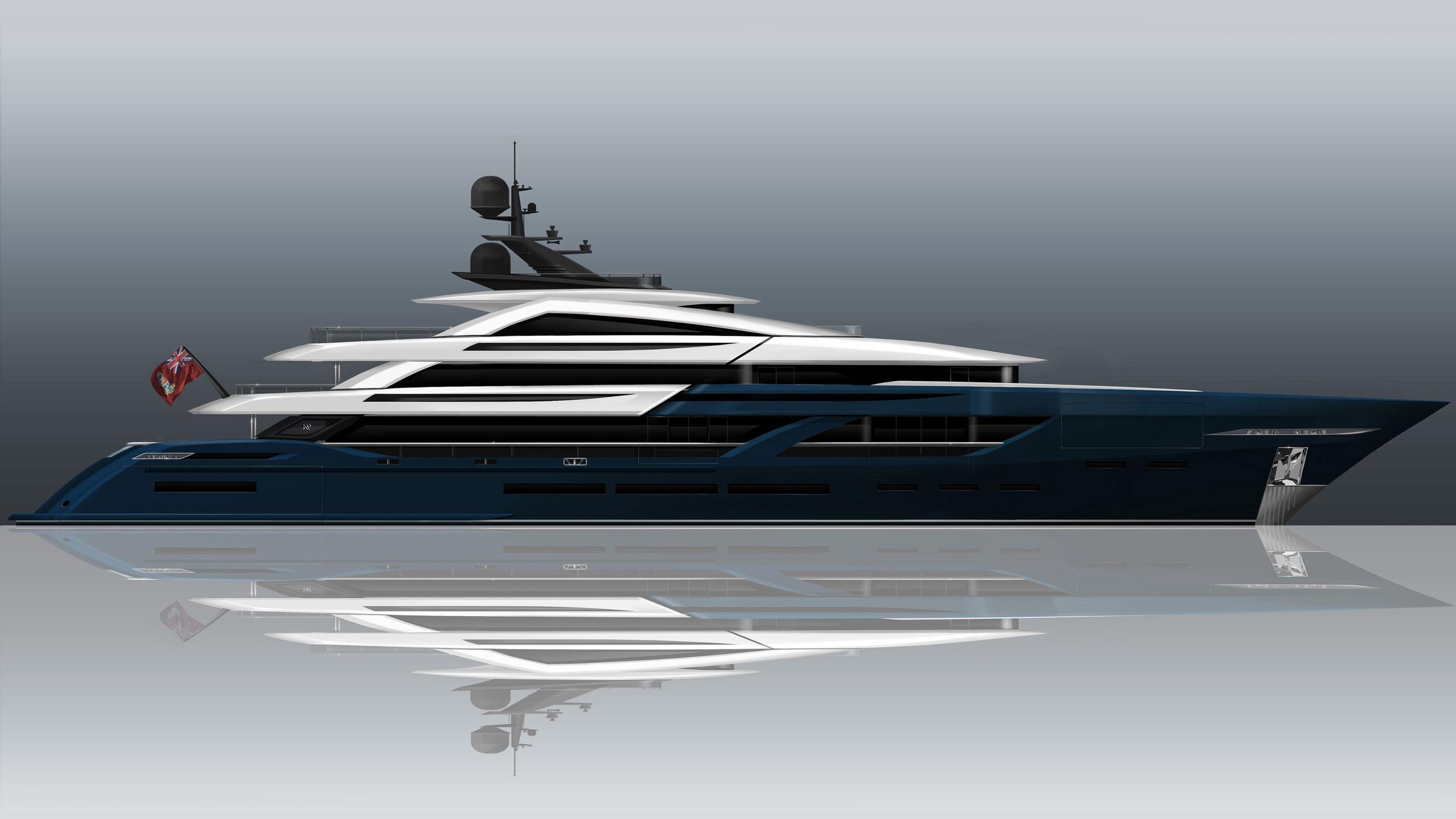 rocco motoryacht isa yachts 65m 2021 rendering