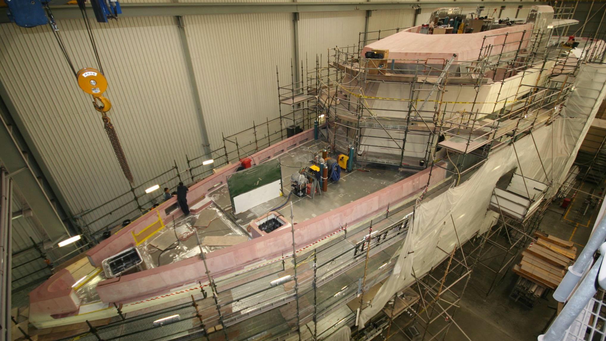 silver loft motoryacht silver yachts 85m 2019 under construction