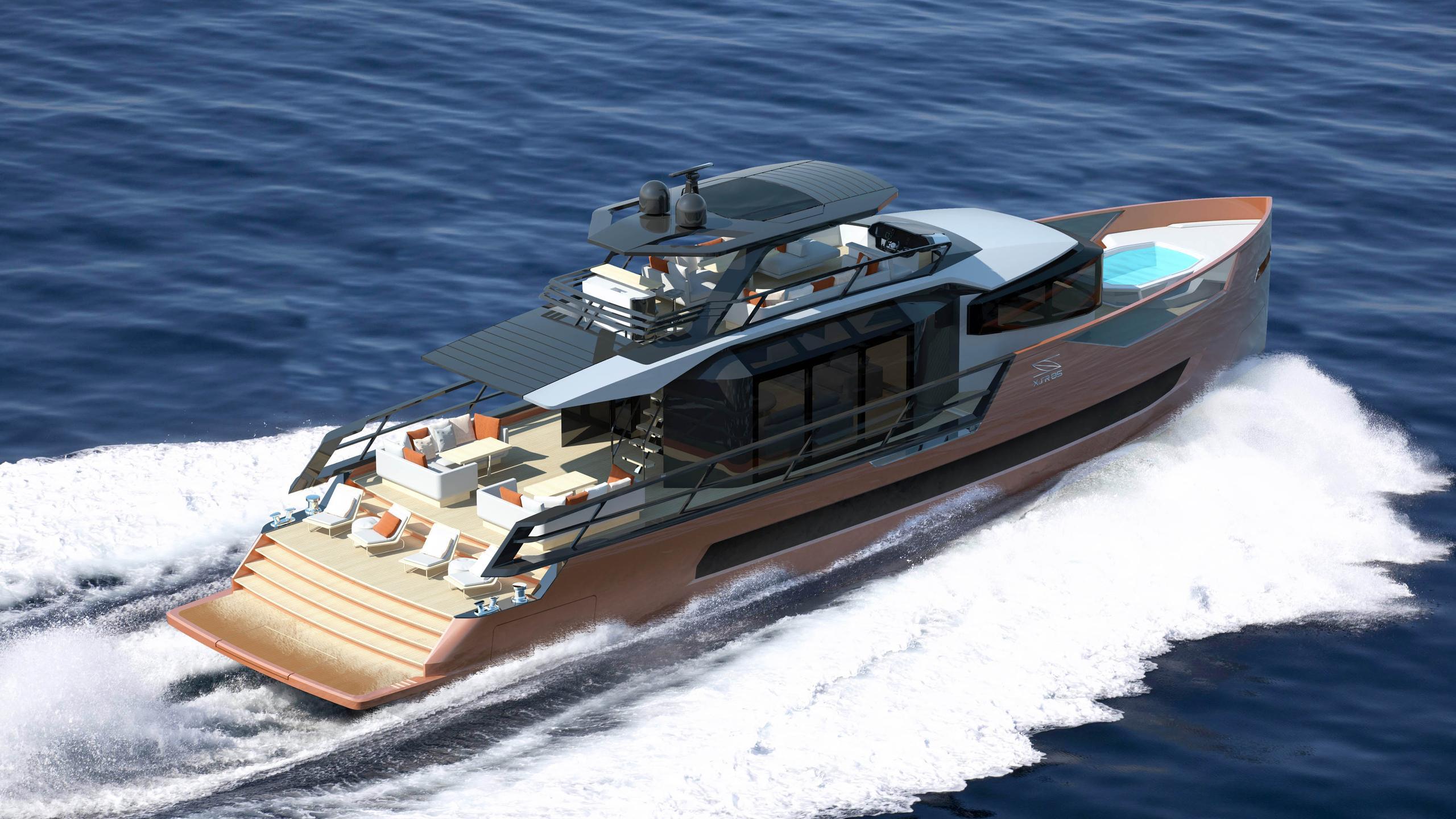 xsr 85 motoryacht sarp yachts 26m 2019 rendering half stern