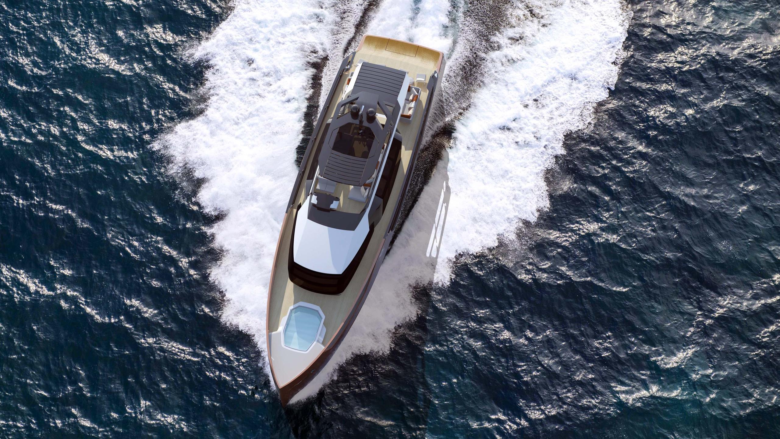 xsr 85 motoryacht sarp yachts 26m 2019 rendering aerial