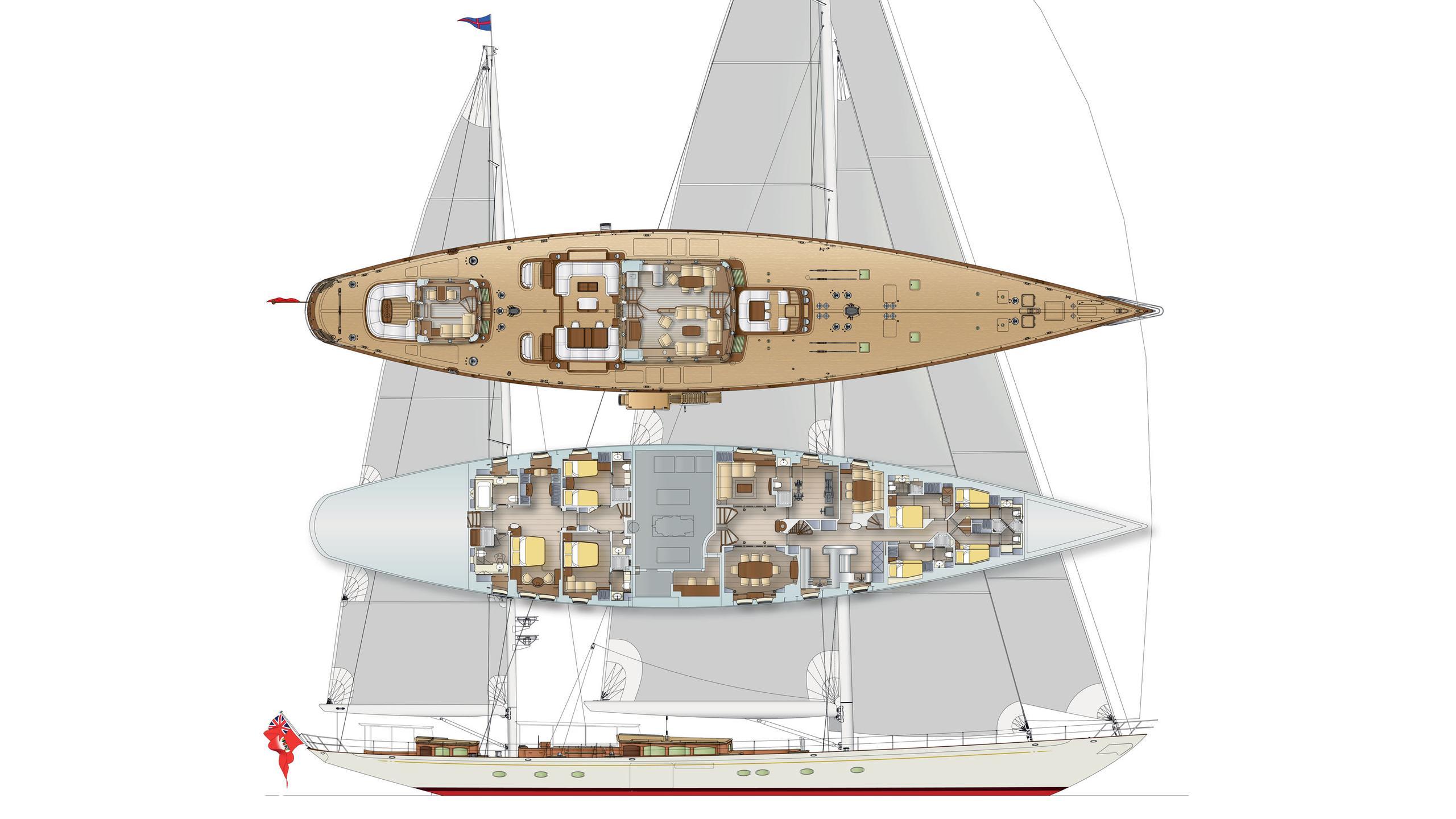 hoek 50m sailing yacht vitters 50m 2019 rendering