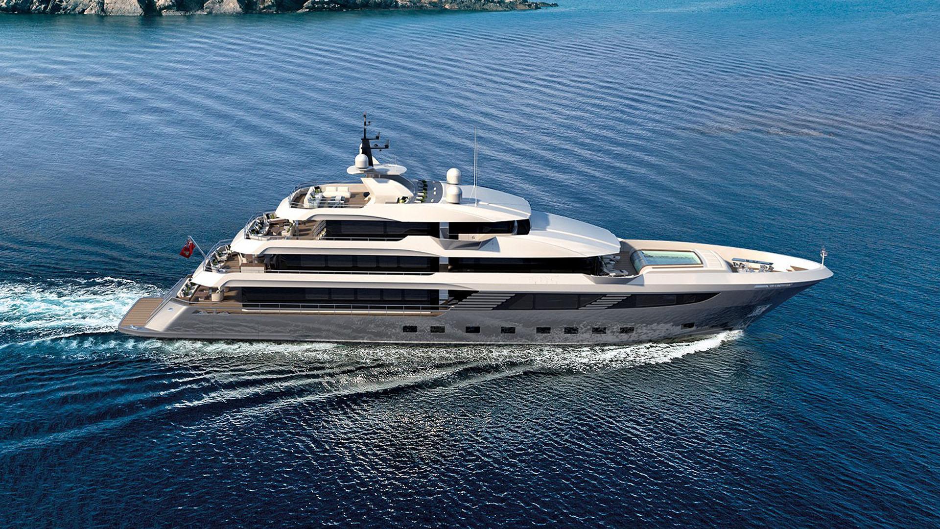 majesty 175 motoryacht gulf craft 53m 2019 rendering profile