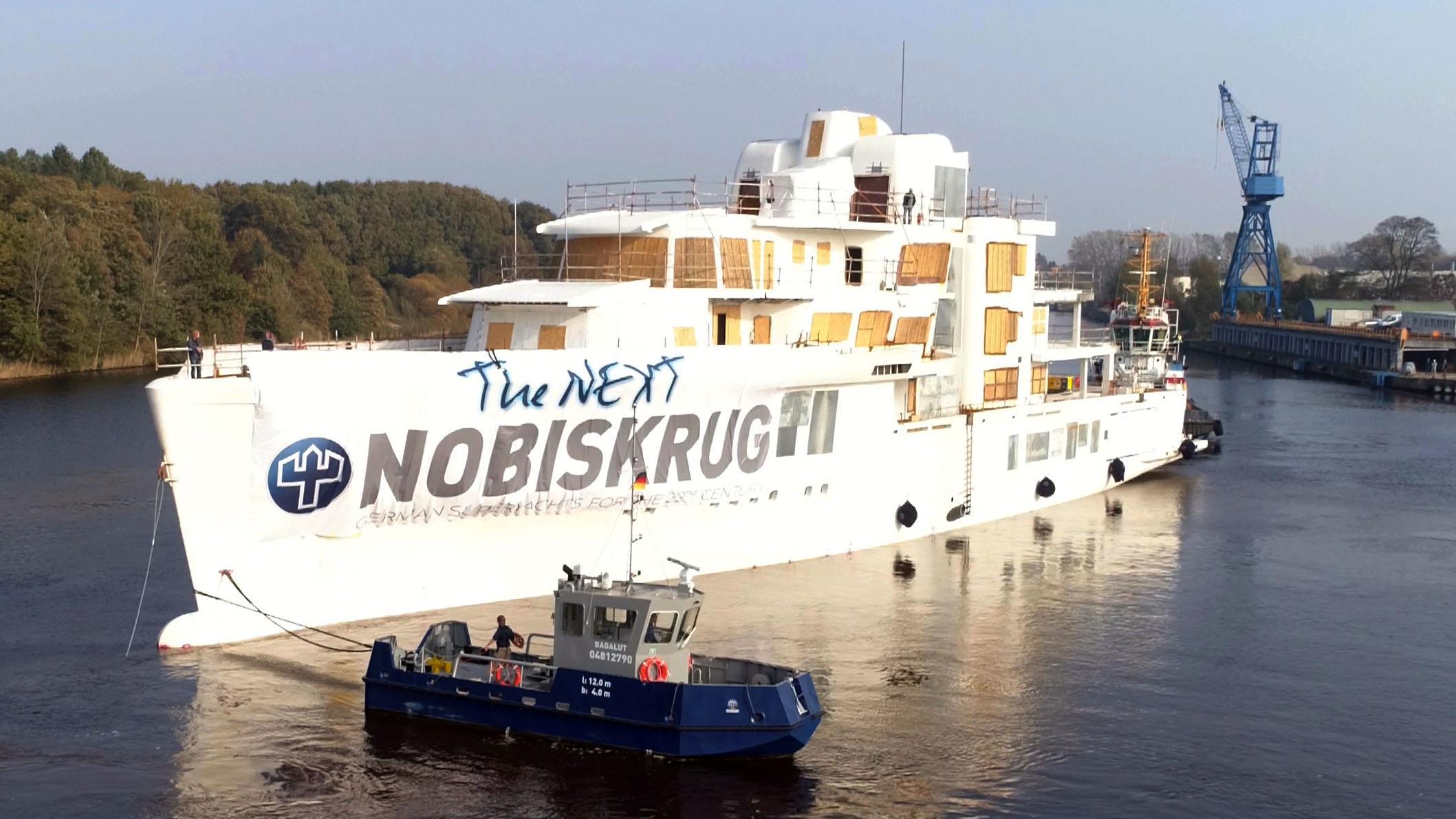 project 790 motoryacht nobiskrug 80m 2019 casco half profile