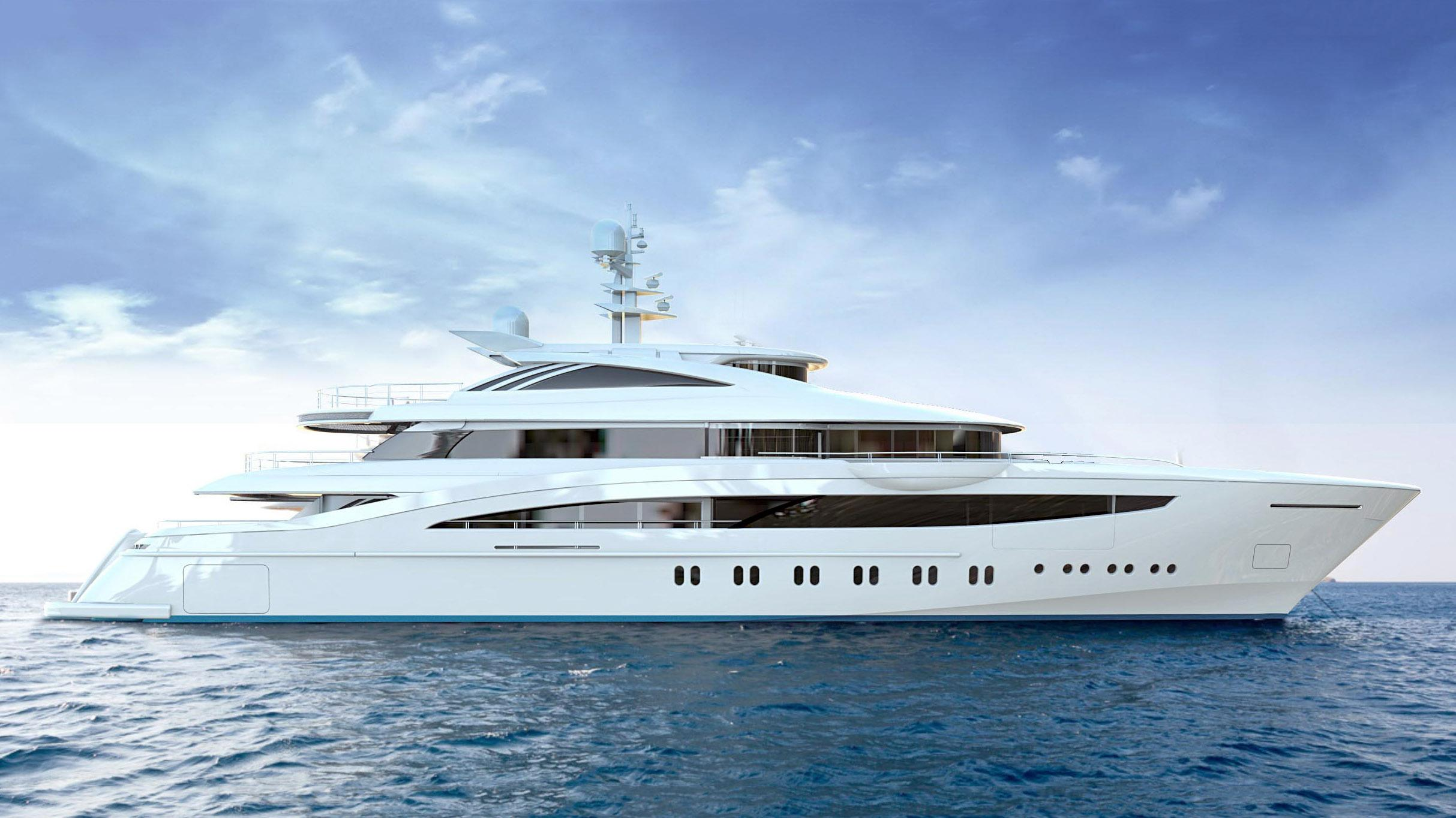 florentia fr039 motoryacht rossinavi 52m 2020 rendering