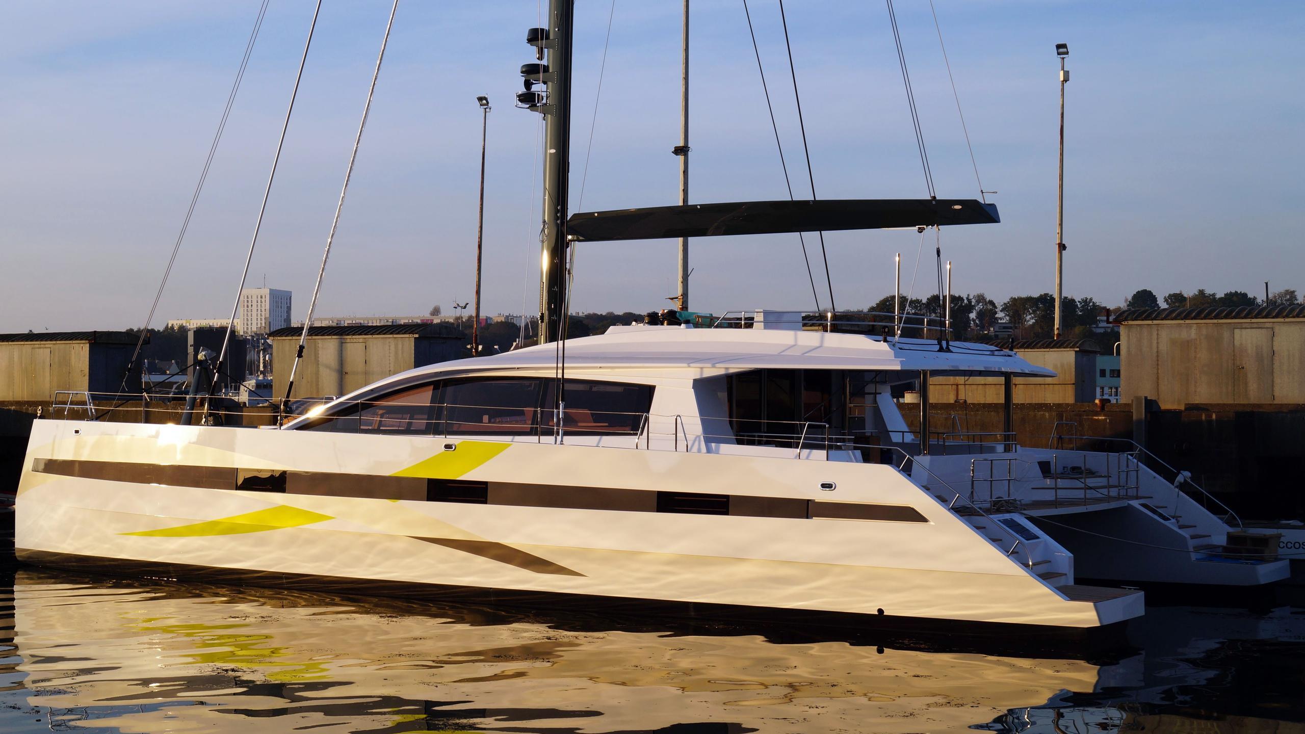 long island 85 hull 2 catamaran sailing yacht jfa yachts 26m 2017 half stern