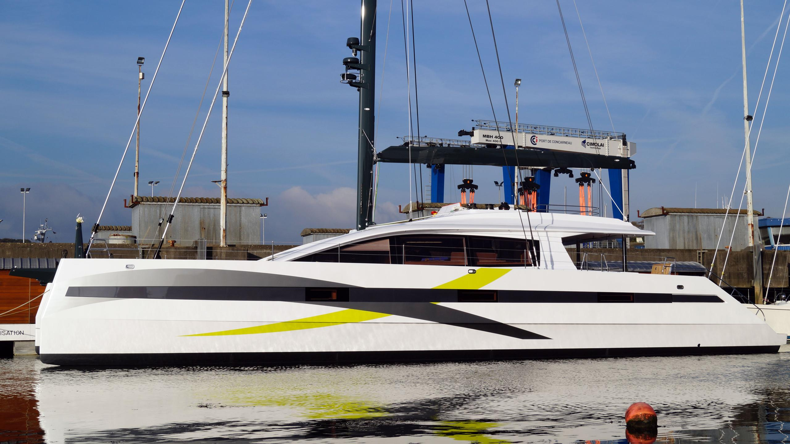 long island 85 hull 2 catamaran sailing yacht jfa yachts 26m 2017 launch profile