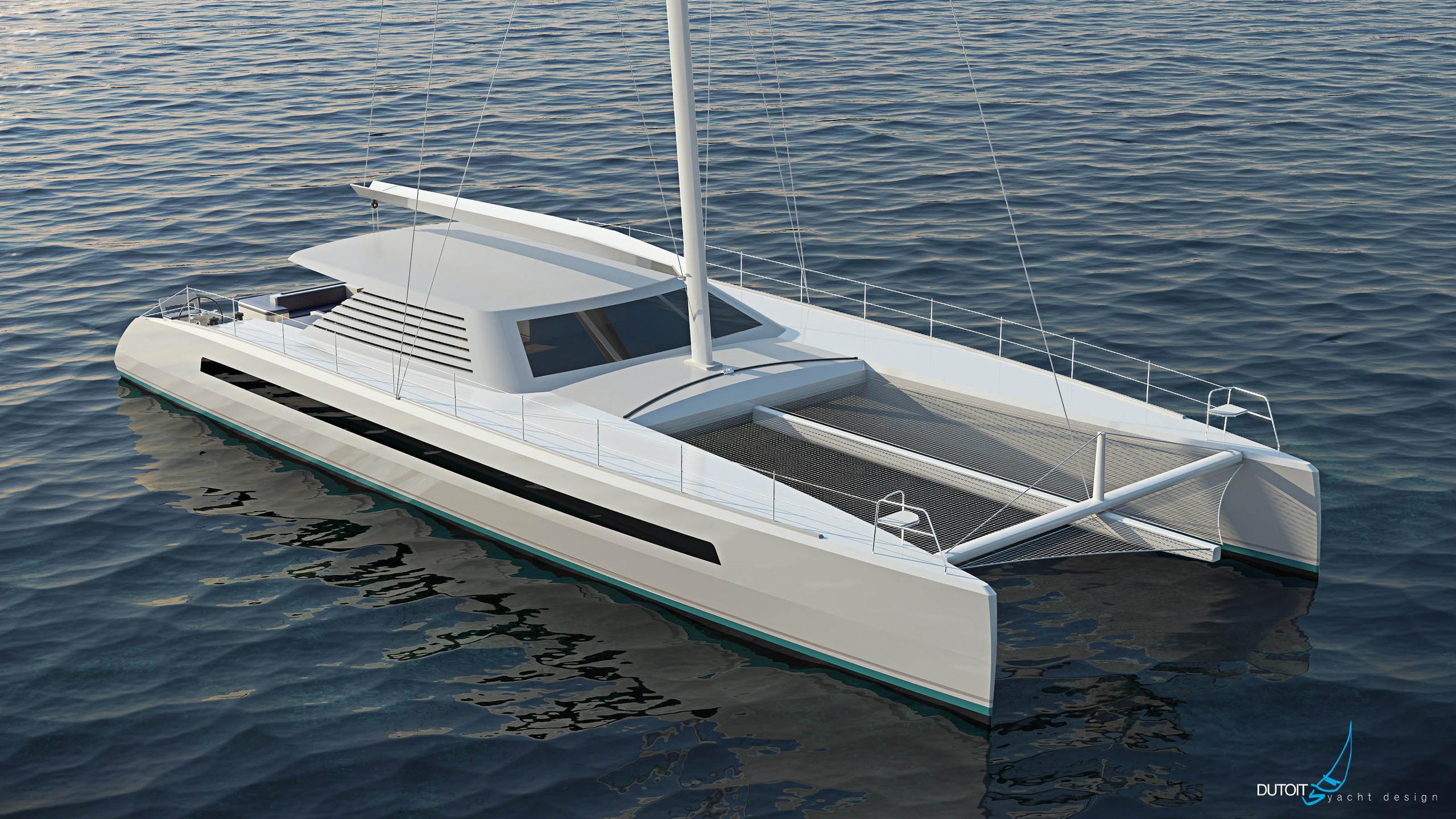 82hpc catamaran sailing yacht two oceans marine 25m 2018 rendering