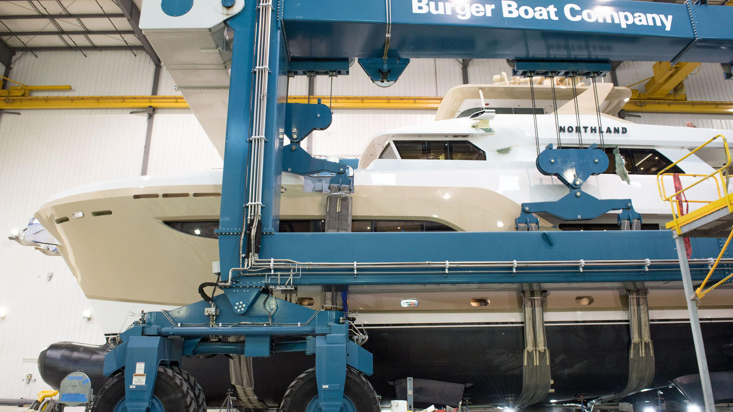 northland motoryacht burger boat 2017 32m launch profile