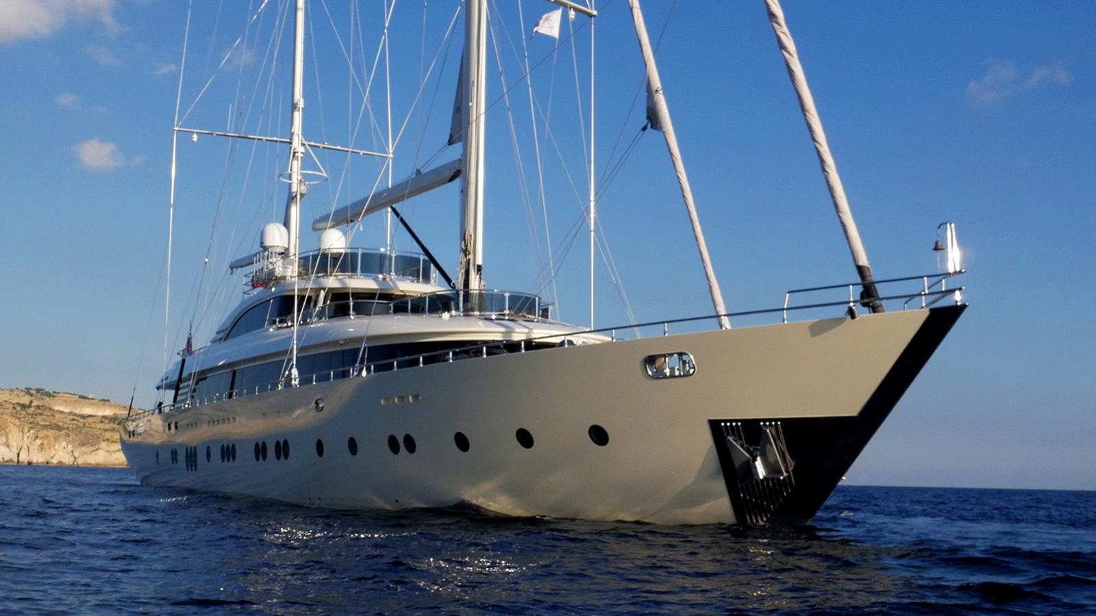 aresteas motorsailor yacht areasteas yachting yildizlar mesrubat 50m 2017 half profile