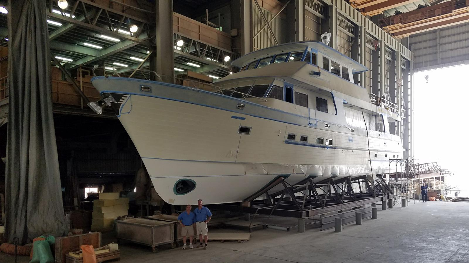860 dbmy motoryacht outer reef yachts 2018 26m under construction