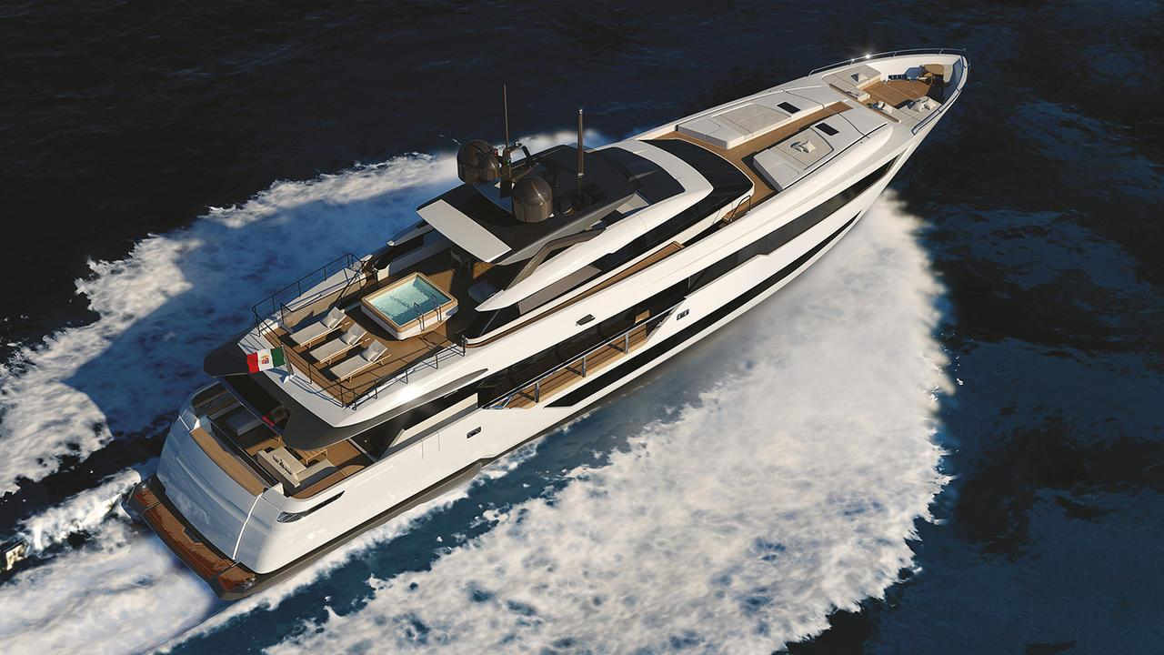 cl 120 motoryacht ferretti custom line 38m 2018 launch profile