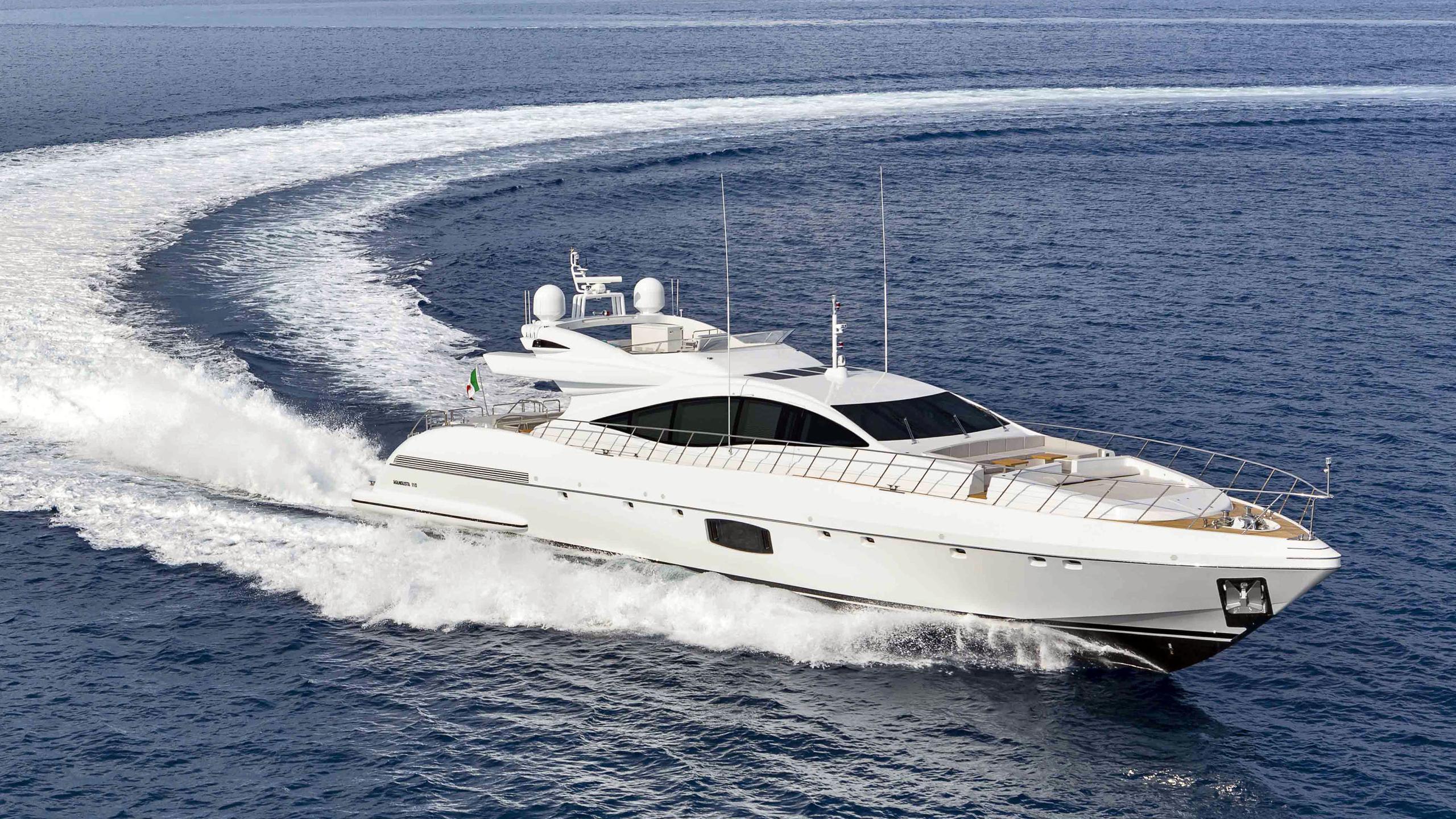 mangusta 110 motoryacht overmarine 34m 2018 half profile sistership
