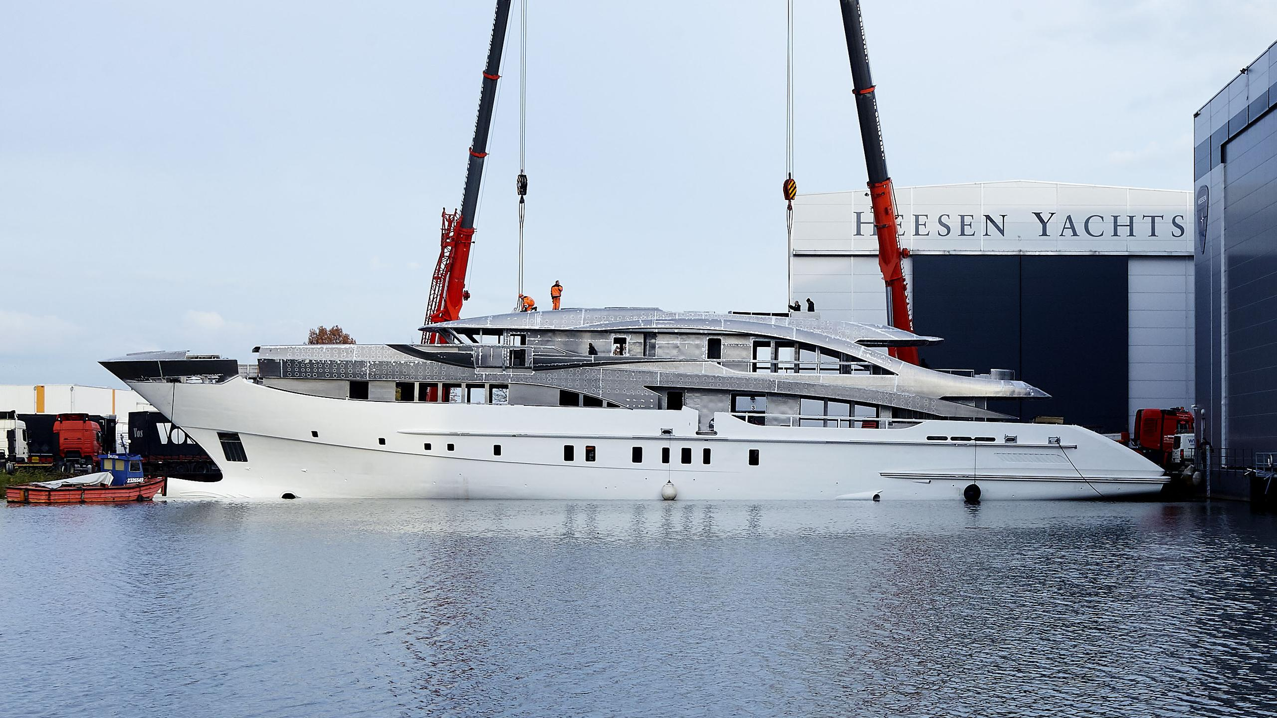 neptune hull 18556 motoryacht heesen yachts 56m 2019 under construction