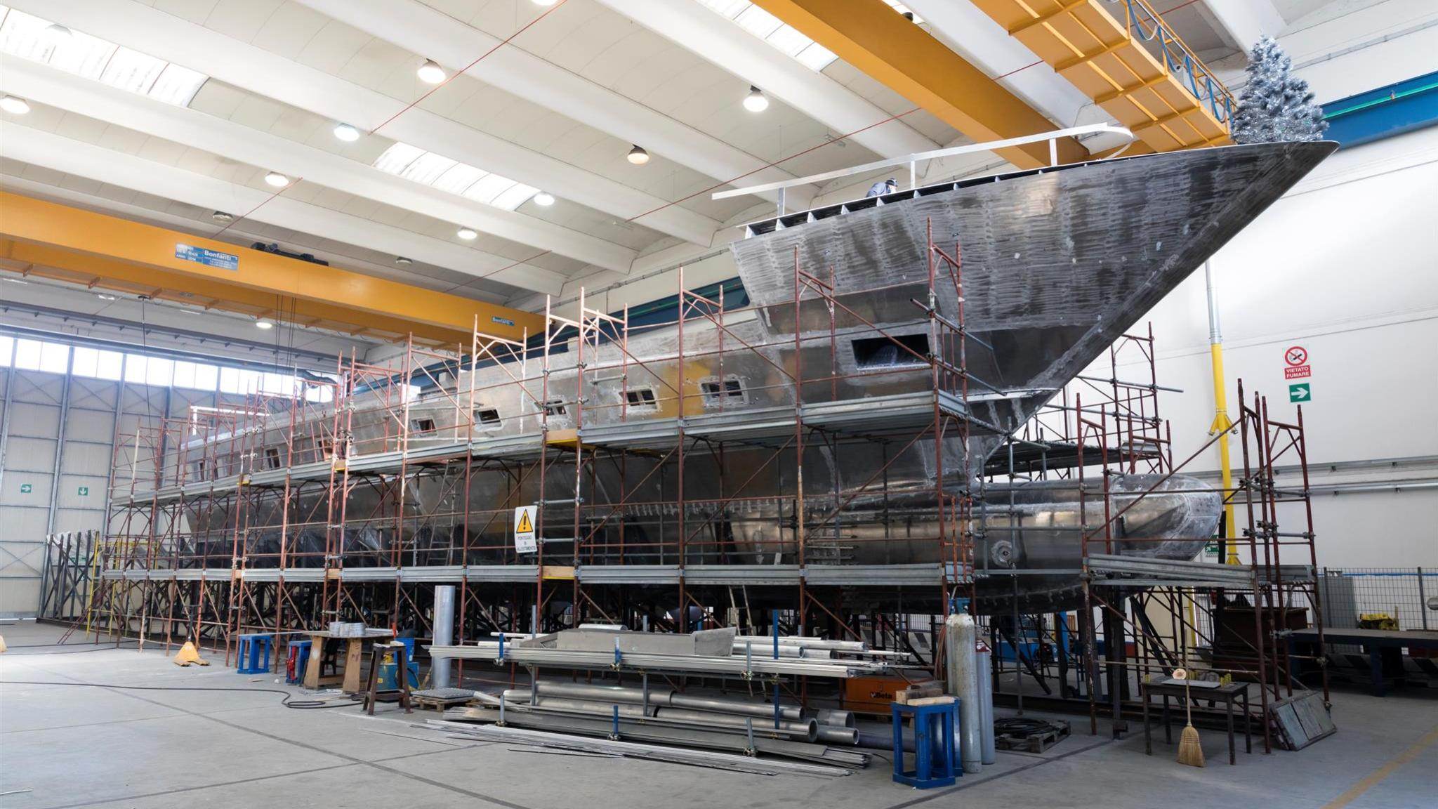 mangusta gransport 45 motoryacht overmarine 45m 2019 under construction