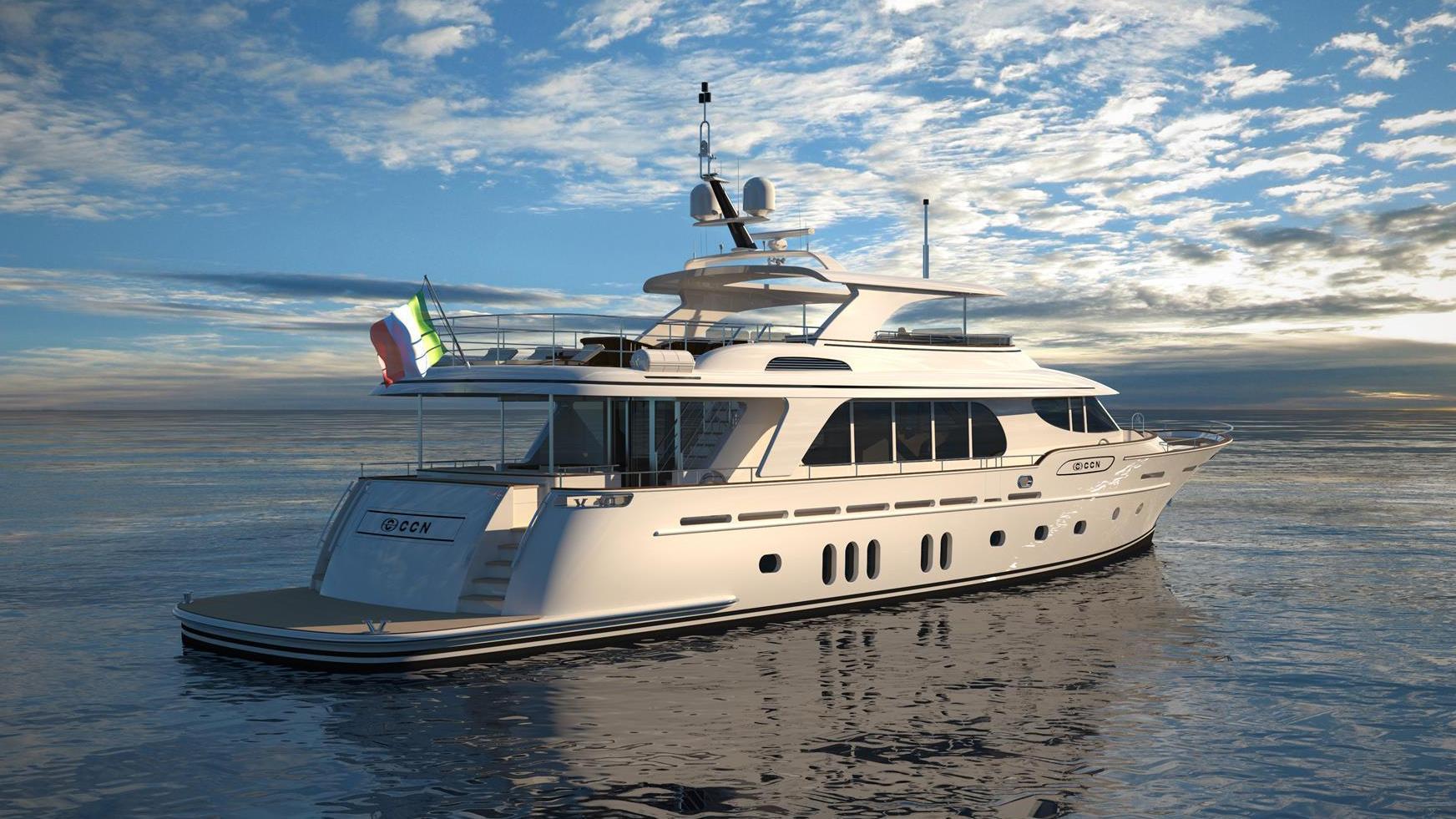 fuoriserie 31m motoryacht ccn 31m 2019 half stern