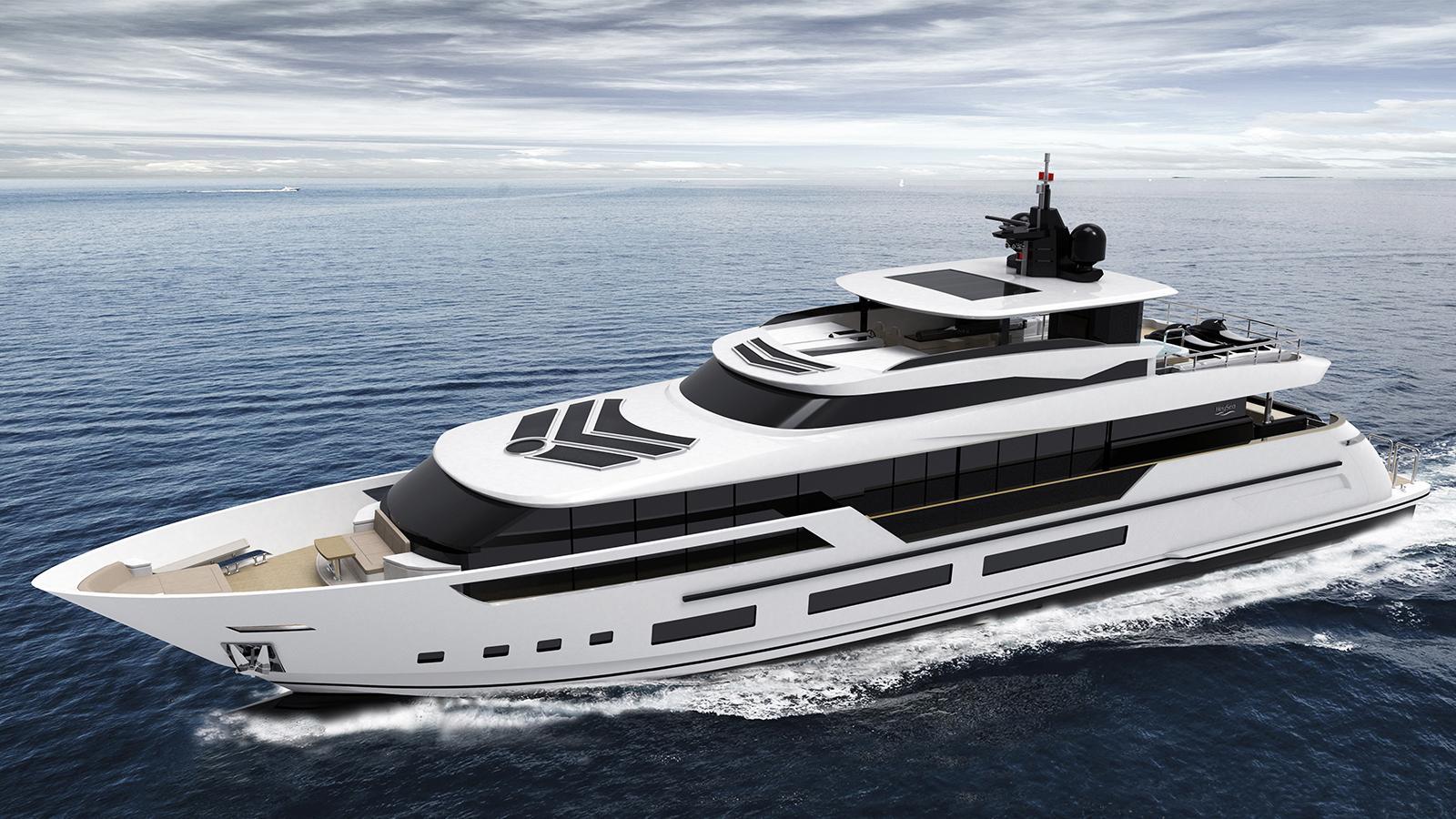 asteria 126 motoryacht heysea yachts 38m 2019 rendering