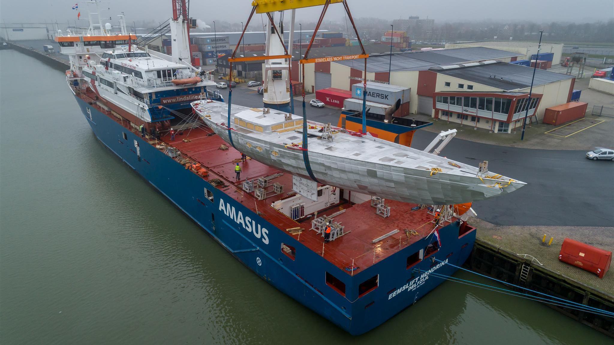 tc 128 sailing yachts ses yachts 39m 2019 hull shipped to turkey