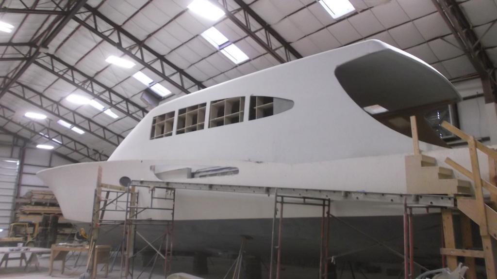 18 reeler weaver 97 dc motoryacht weaver boatworks 29m 2018 under construction