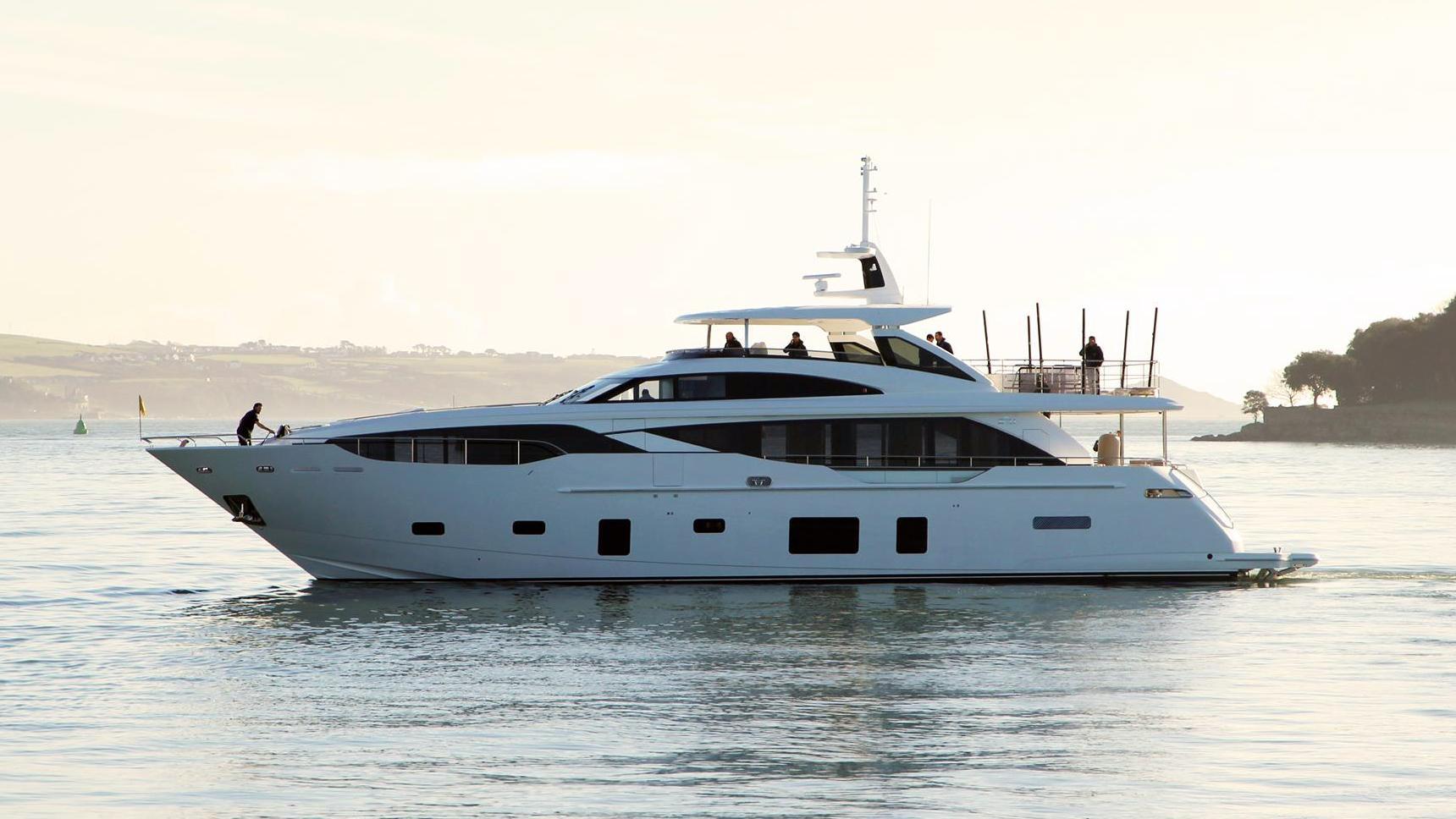 princess three motoryacht princess yachts 30m 2018 profile sea trials