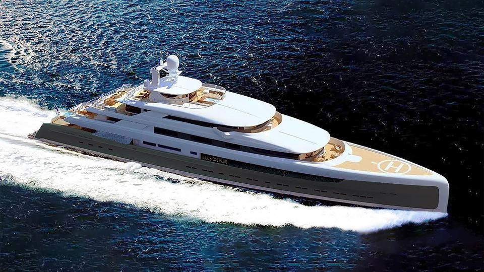 illusion plus motoryacht pride mega yachts 88m 2018 rendering