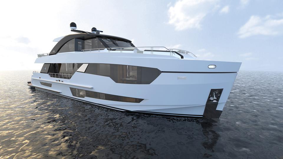 hull 90r01 motoryacht ocean alexander 90 28m 2018 rendering