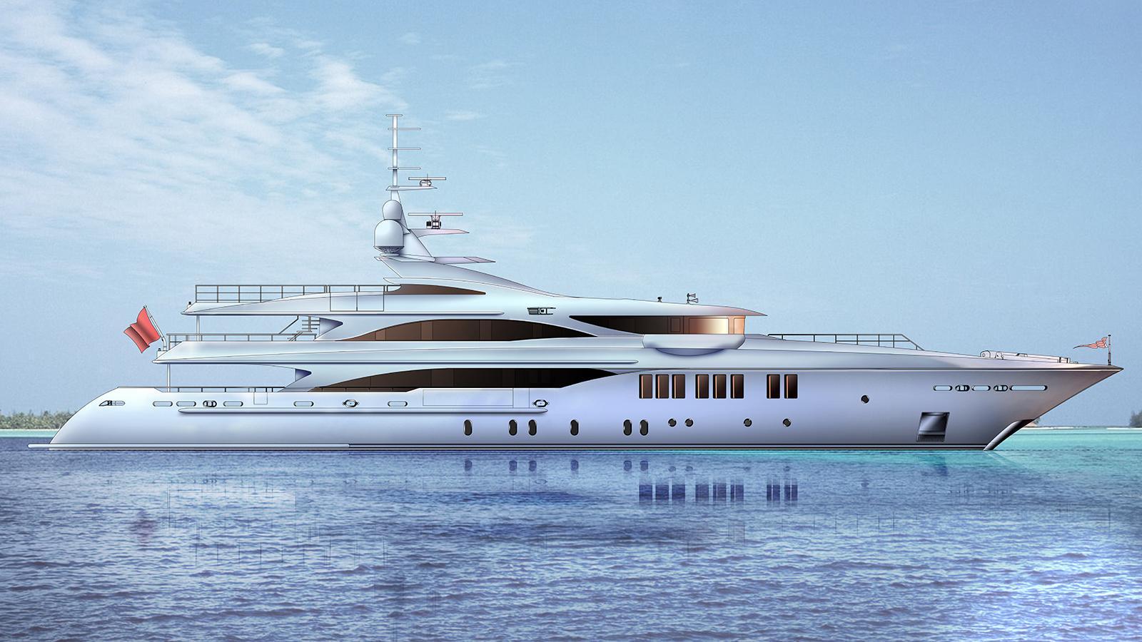 o mathilde motoryacht golden yachts 57m 2018 rendering profile