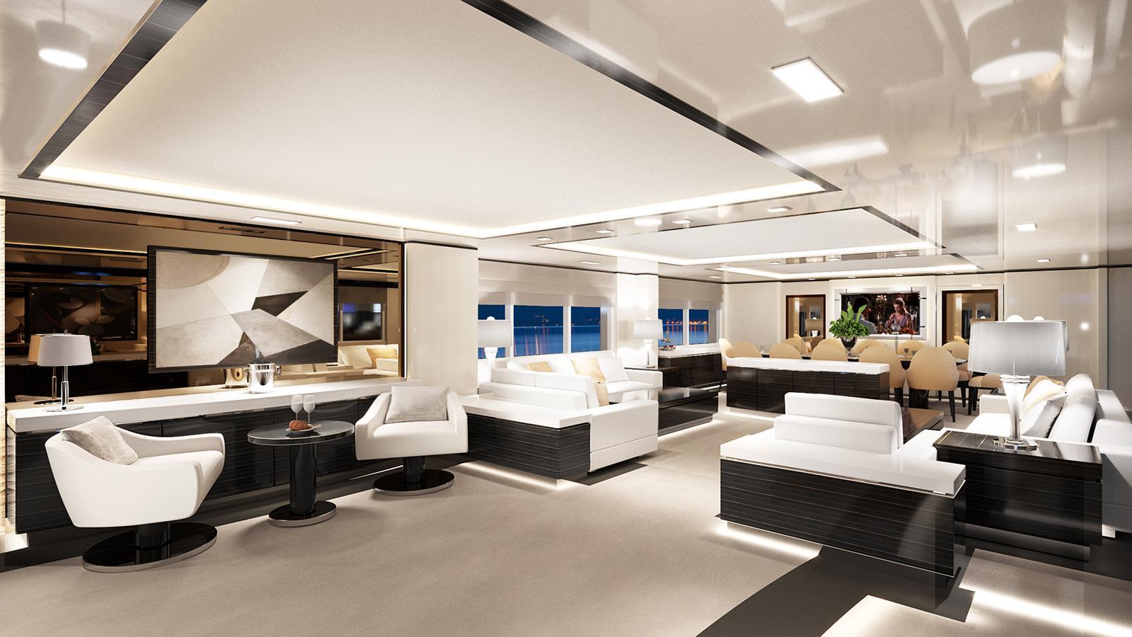 o mathilde motoryacht golden yachts 57m 2018 rendering saloon