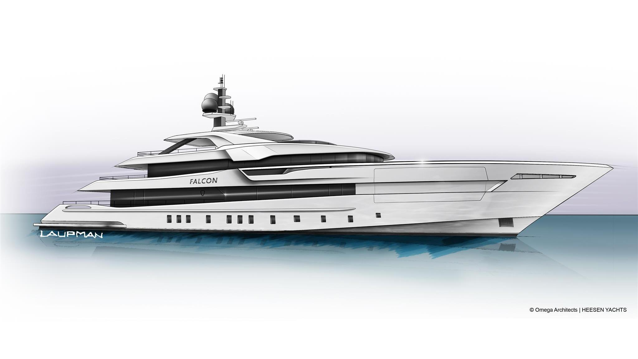 project falcon motoryacht heesen yachts 60m 2021 rendering