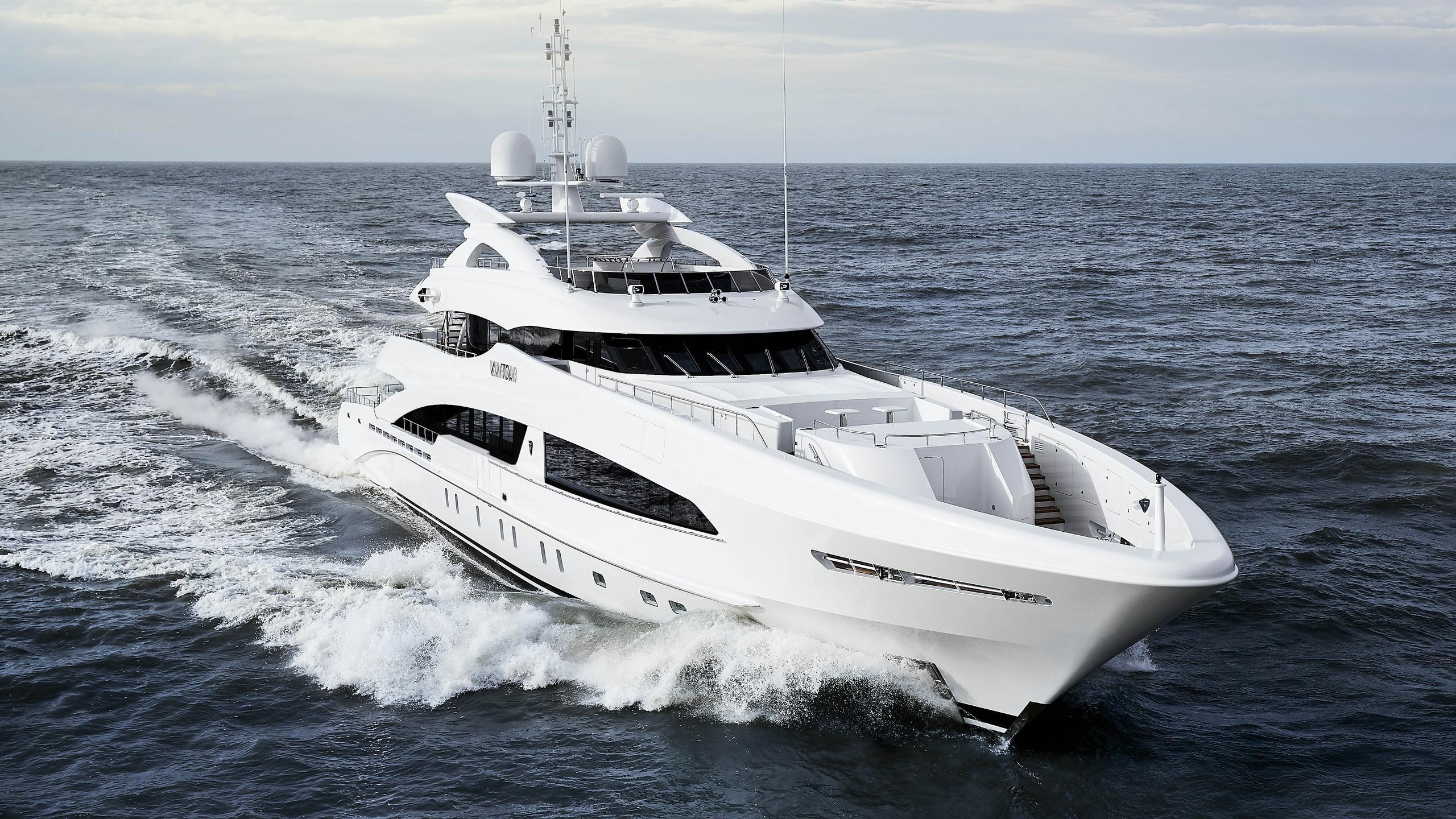 vantom motoryacht heesen yachts 50m 2018 half profile