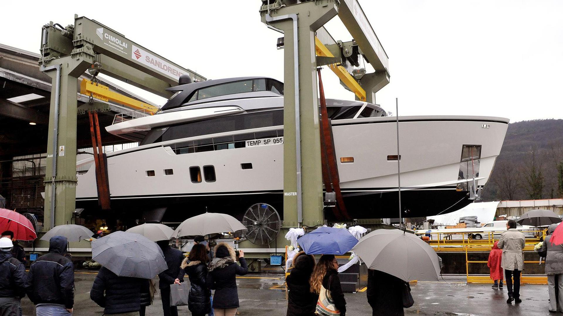 sx88 hull 3 motoryacht sanlorenzo 27m 2018 launch