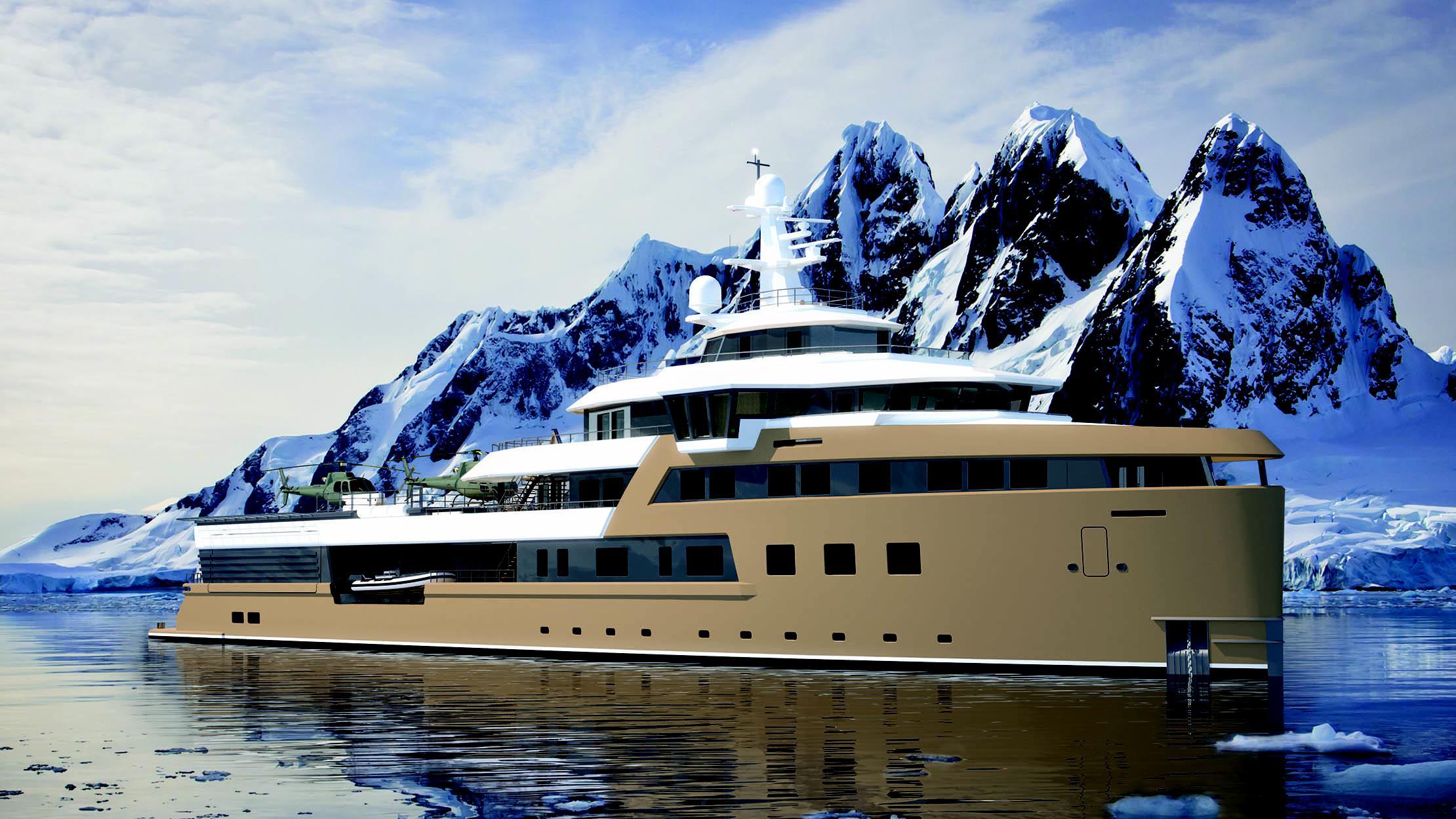 seaxplorer 77 motoryacht damen 77m 2020 rendering profile