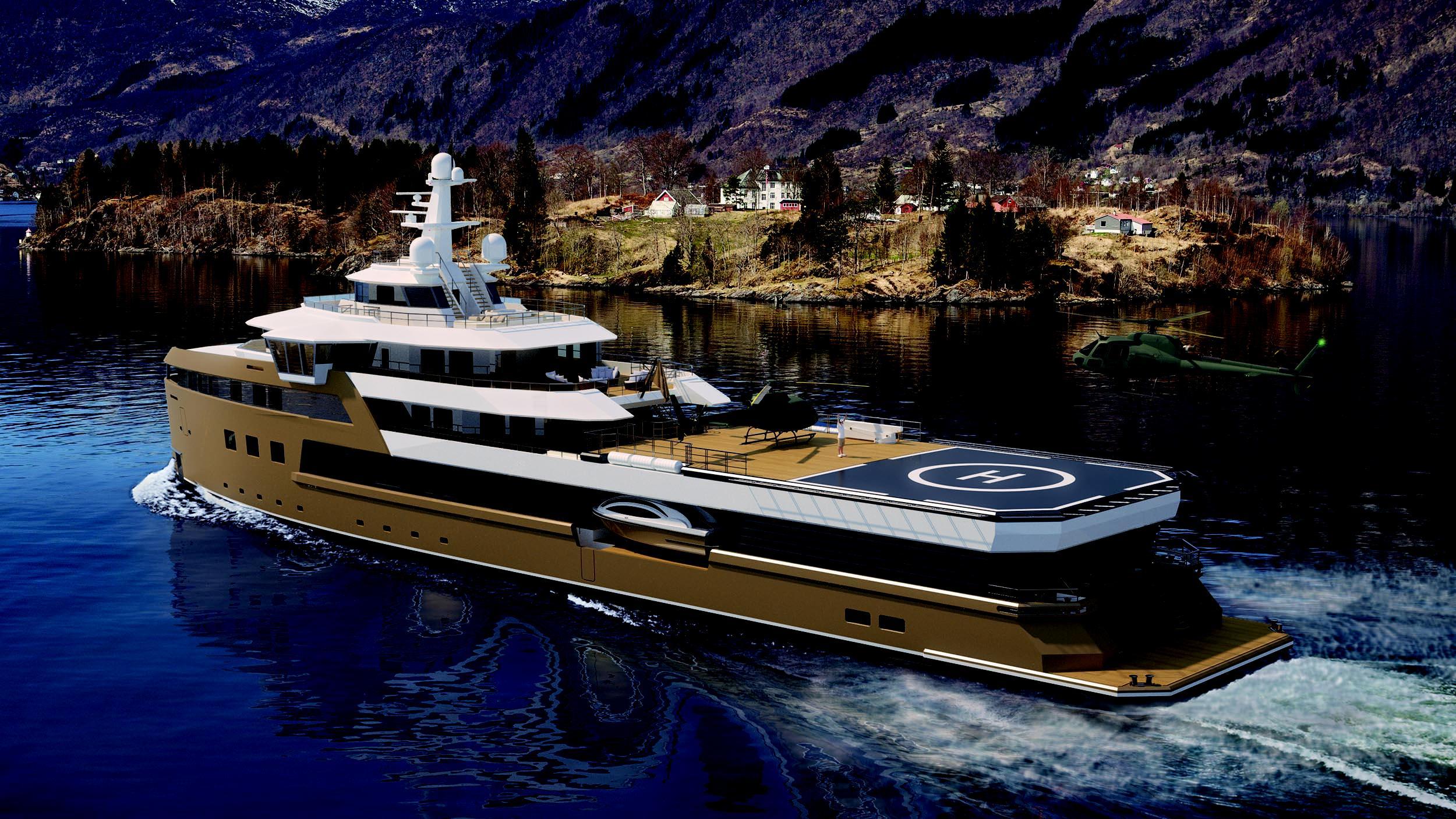 seaxplorer 77 motoryacht damen 77m 2020 rendering half stern